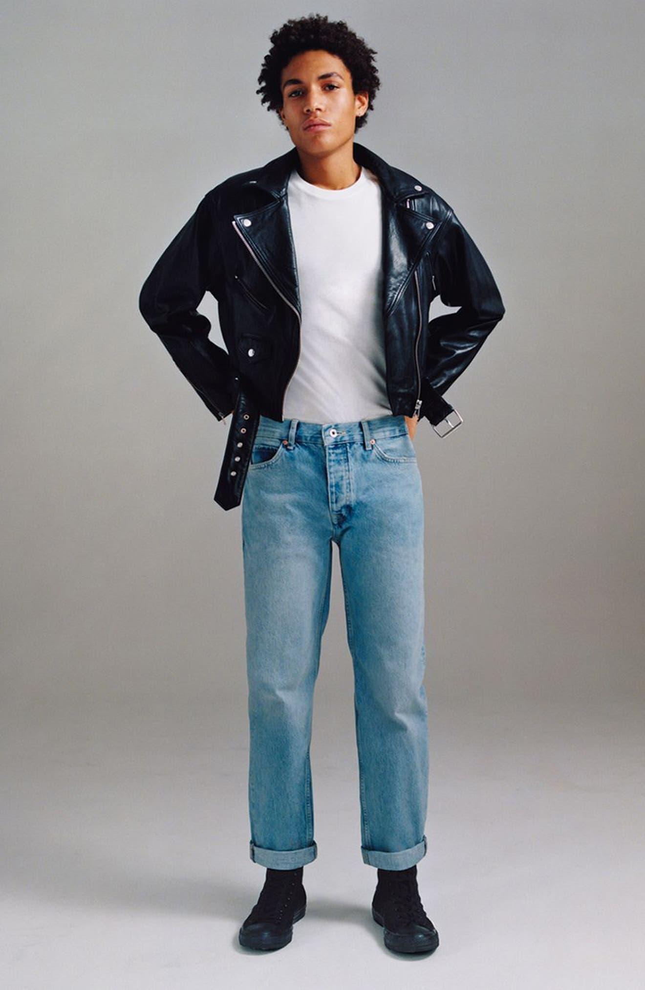 Original Fit Jeans,                             Alternate thumbnail 5, color,                             Blue