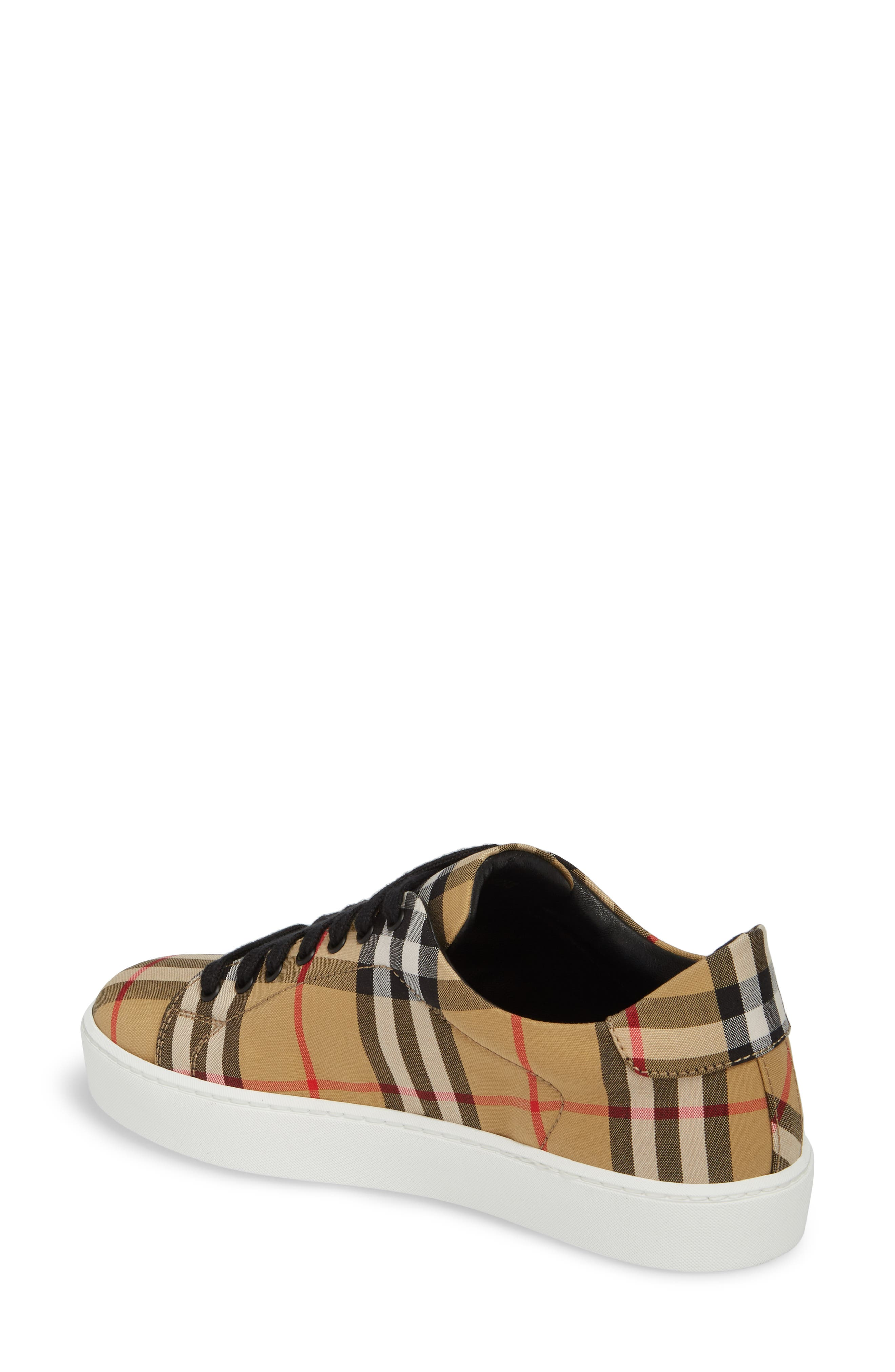 Westford Check Sneaker,                             Alternate thumbnail 2, color,                             Antique Yellow