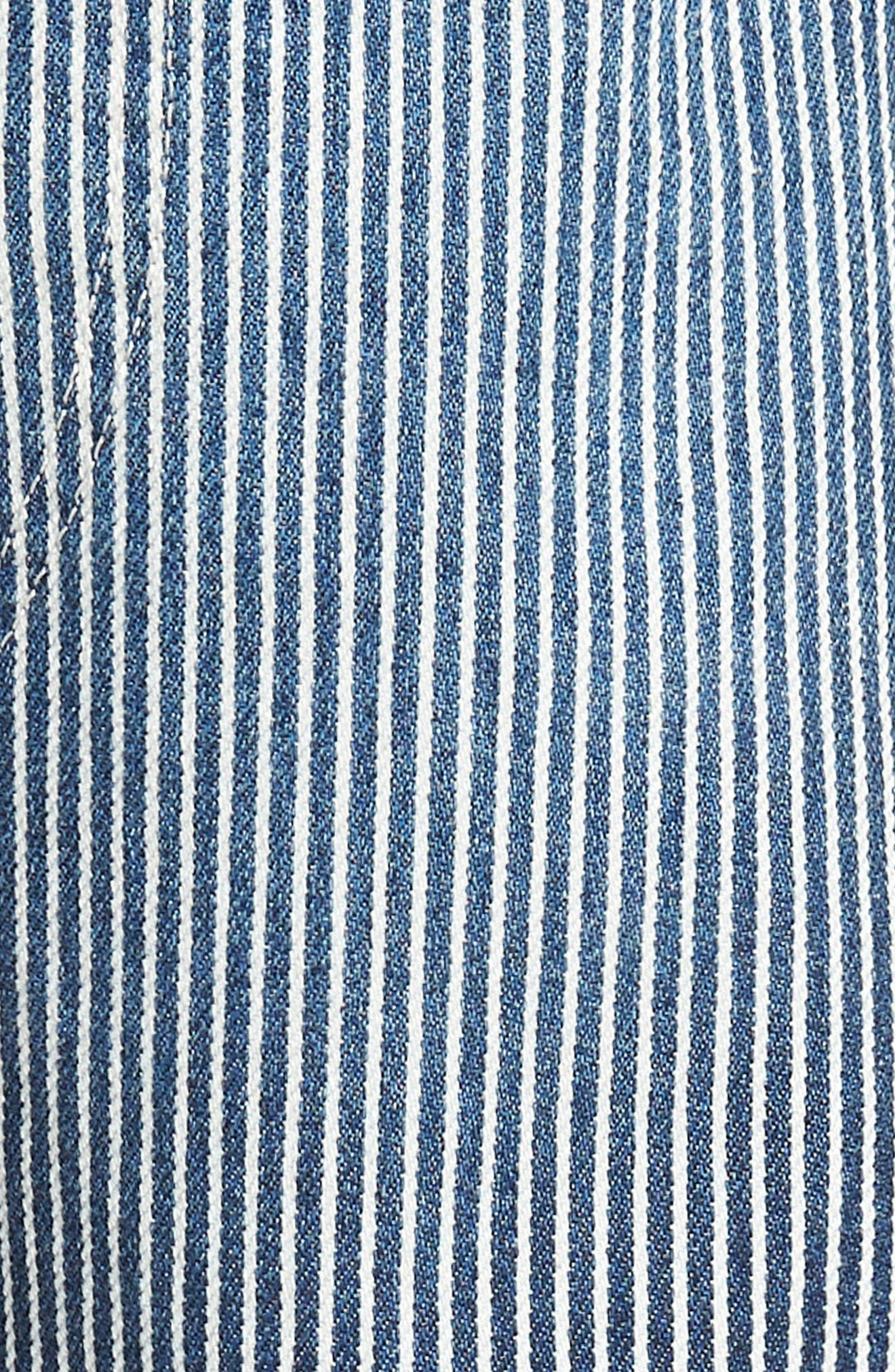 3D Slim Pants,                             Alternate thumbnail 5, color,                             Medium Aged Destroy