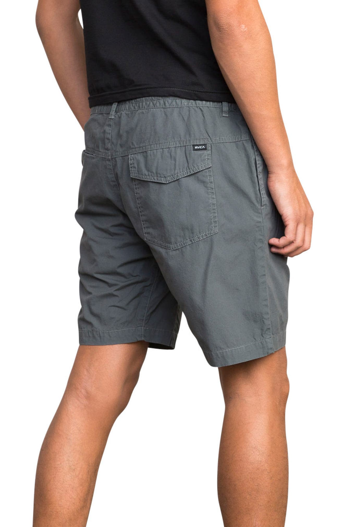 Current Wander Shorts,                             Alternate thumbnail 3, color,                             Slate