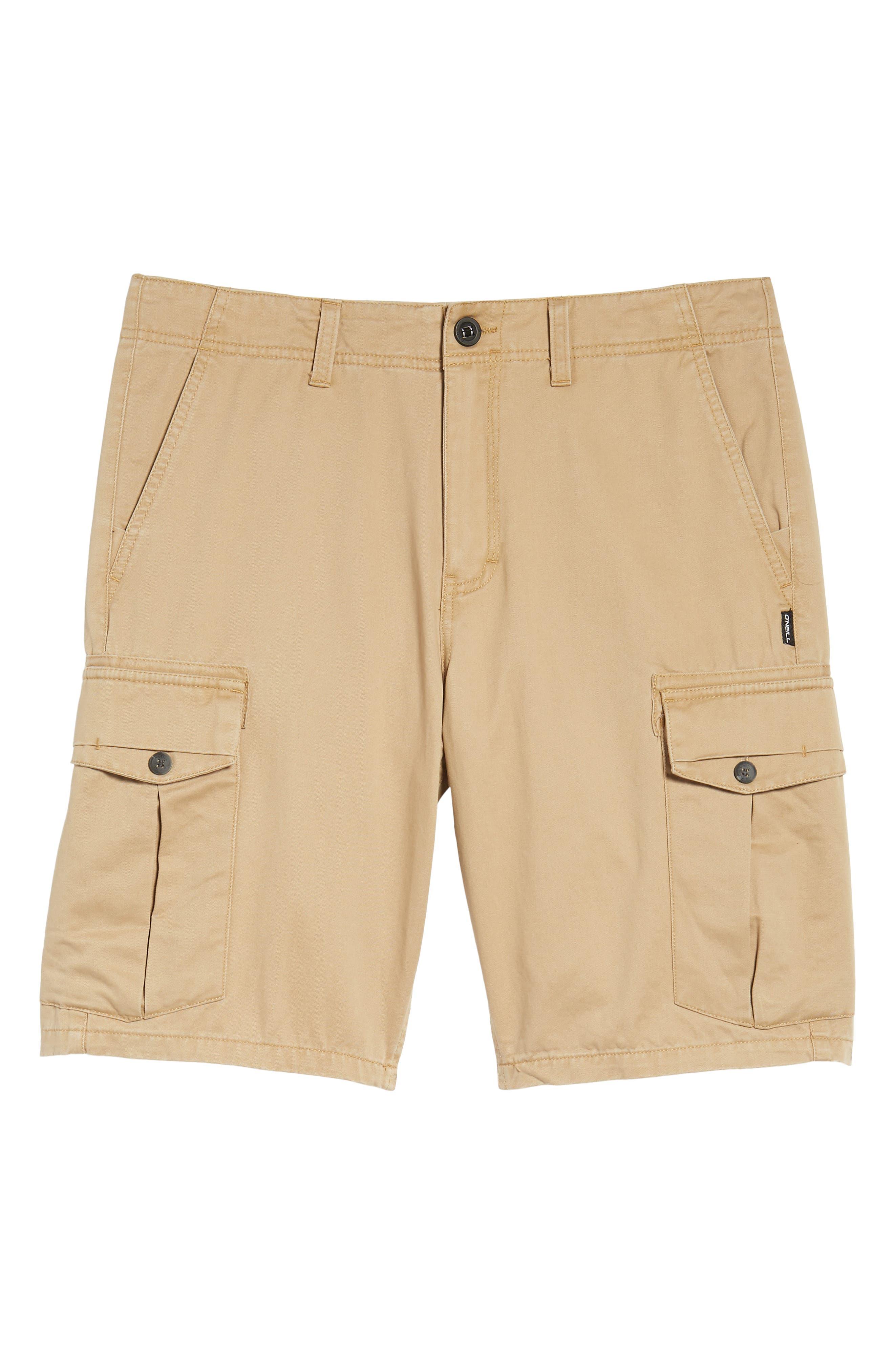 Campbell Cargo Shorts,                             Alternate thumbnail 6, color,                             Khaki