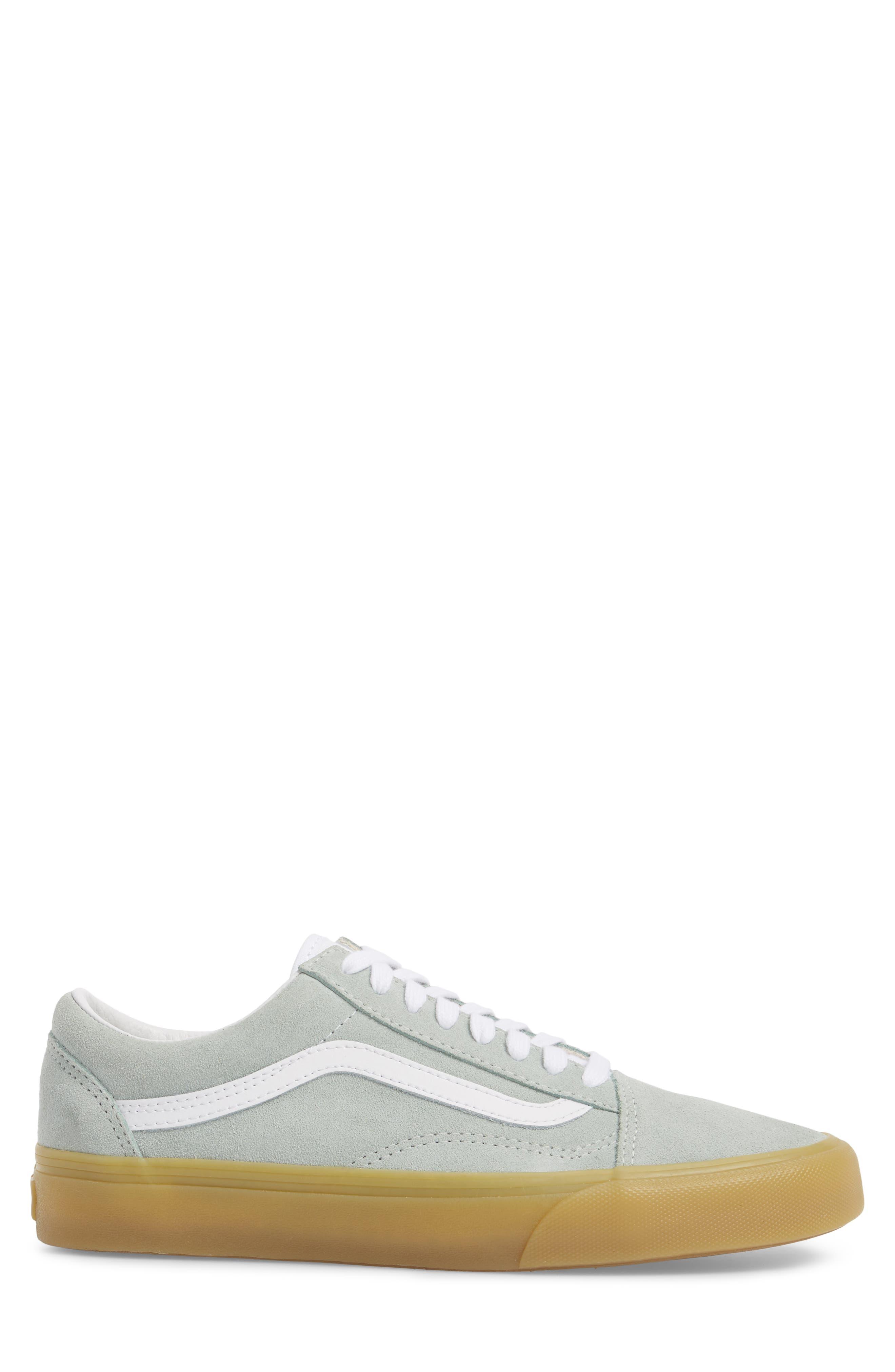 Gum Old Skool Sneaker,                             Alternate thumbnail 3, color,                             Metal Leather