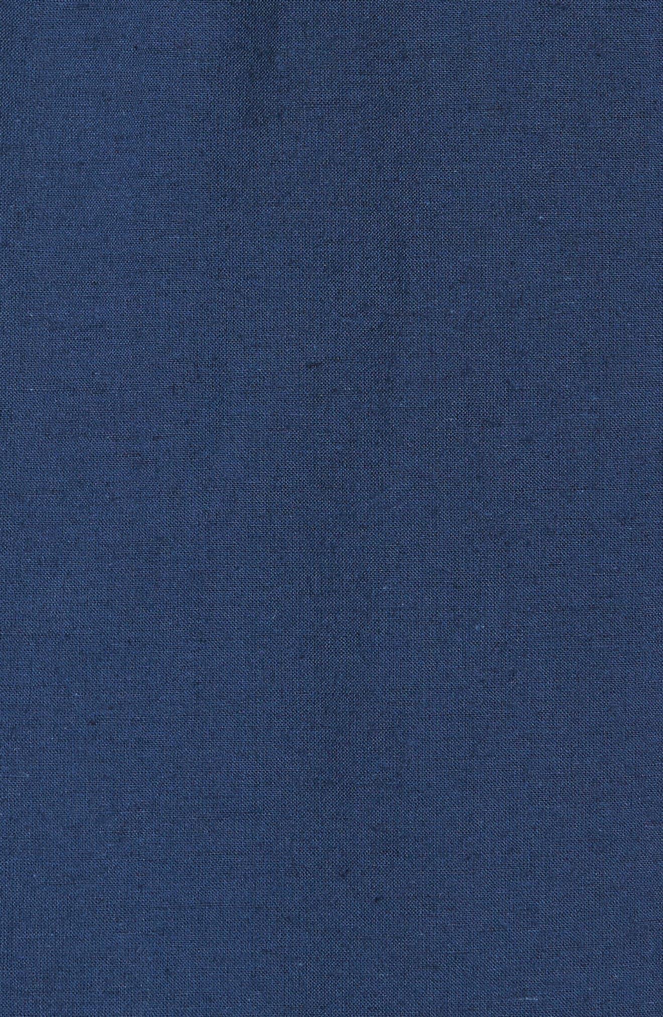 Thurber Short Sleeve Shirt,                             Alternate thumbnail 5, color,                             Dress Blues