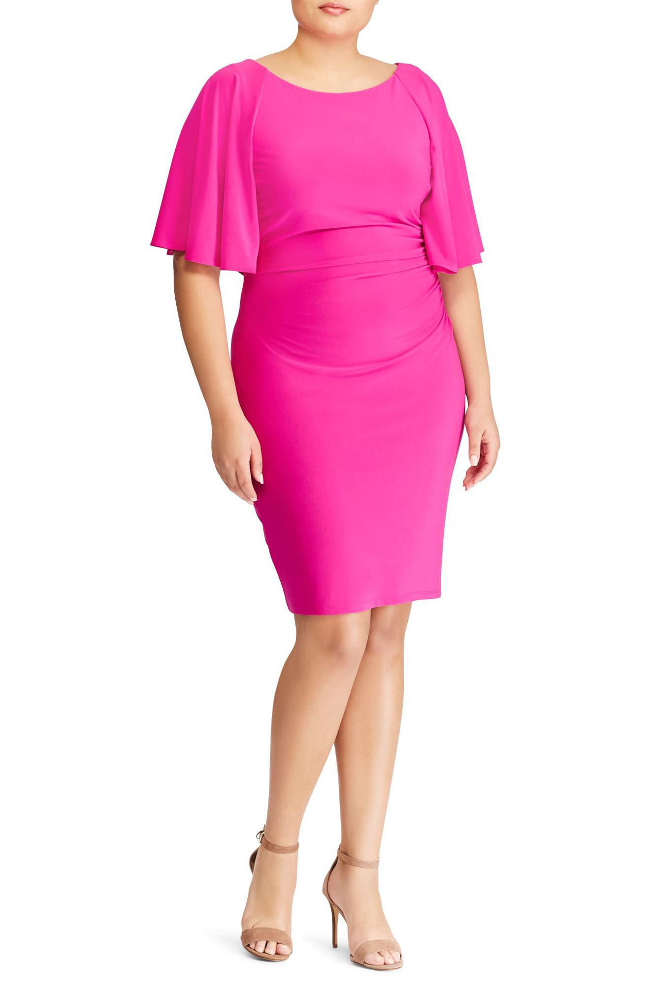 Lauren Ralph Lauren Jessup Body-Con Dress (Plus Size)