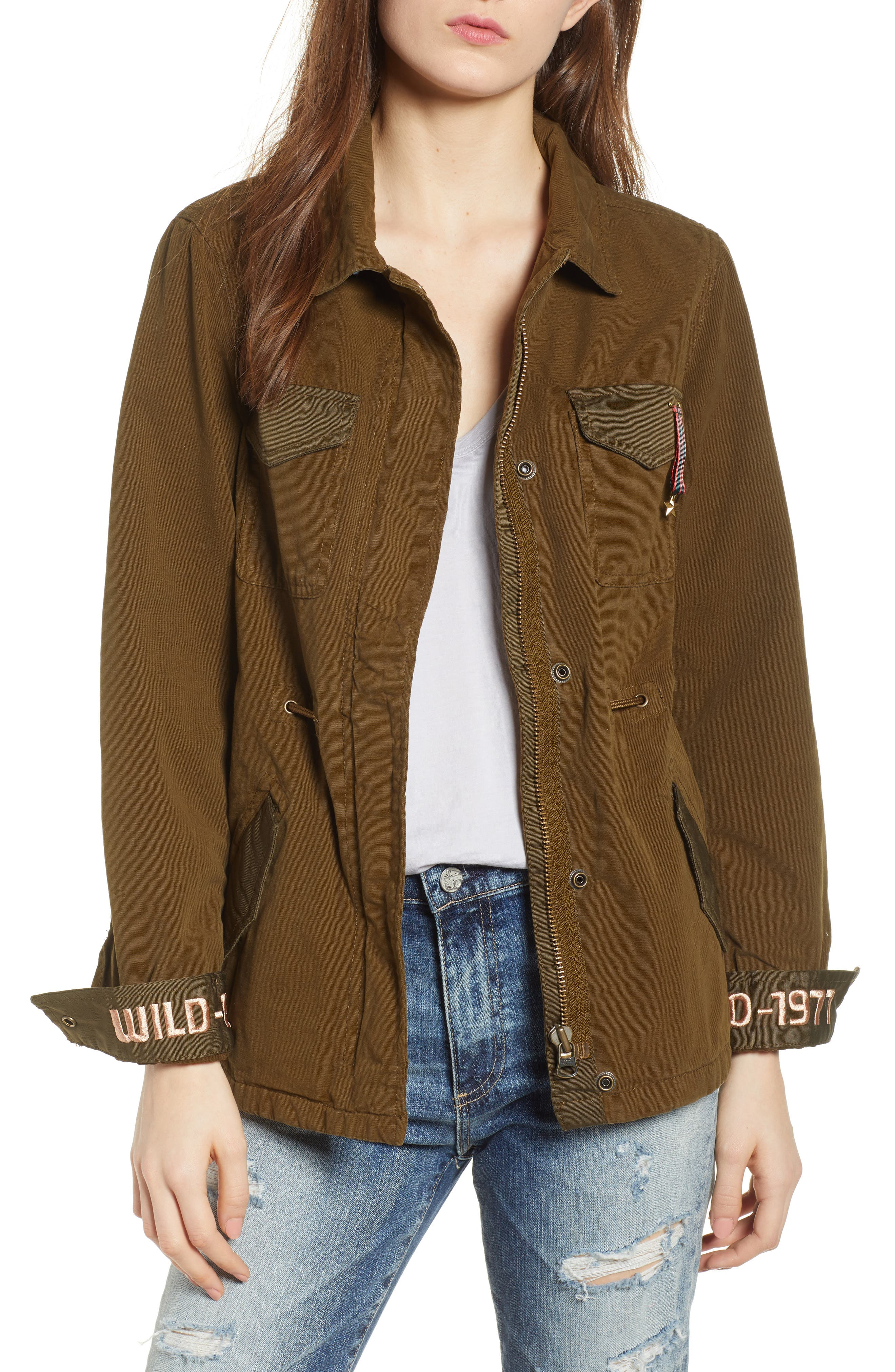 Safari Jacket,                         Main,                         color, Color 15 Army