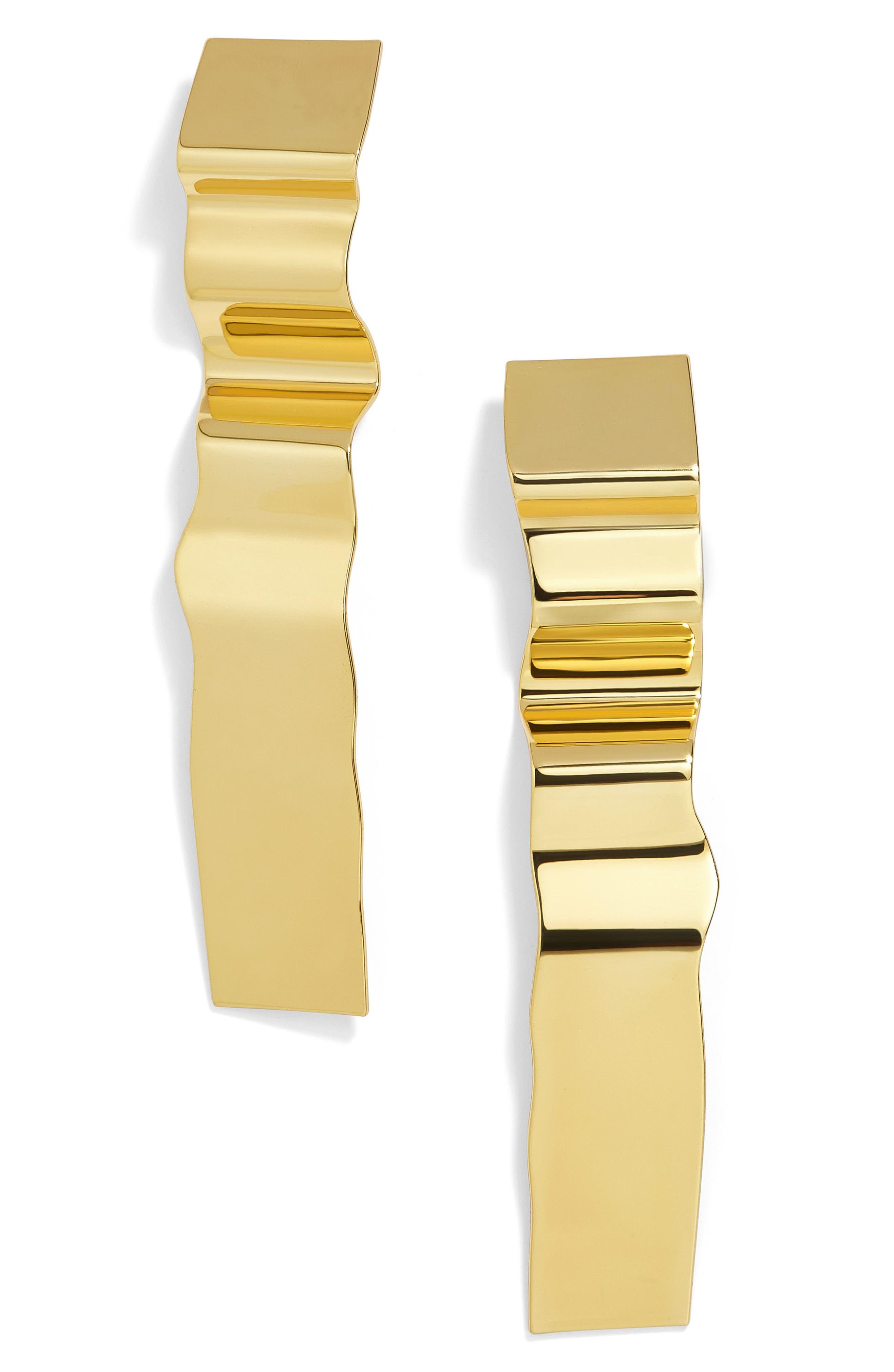 Nara Drop Earrings,                             Main thumbnail 1, color,                             Gold