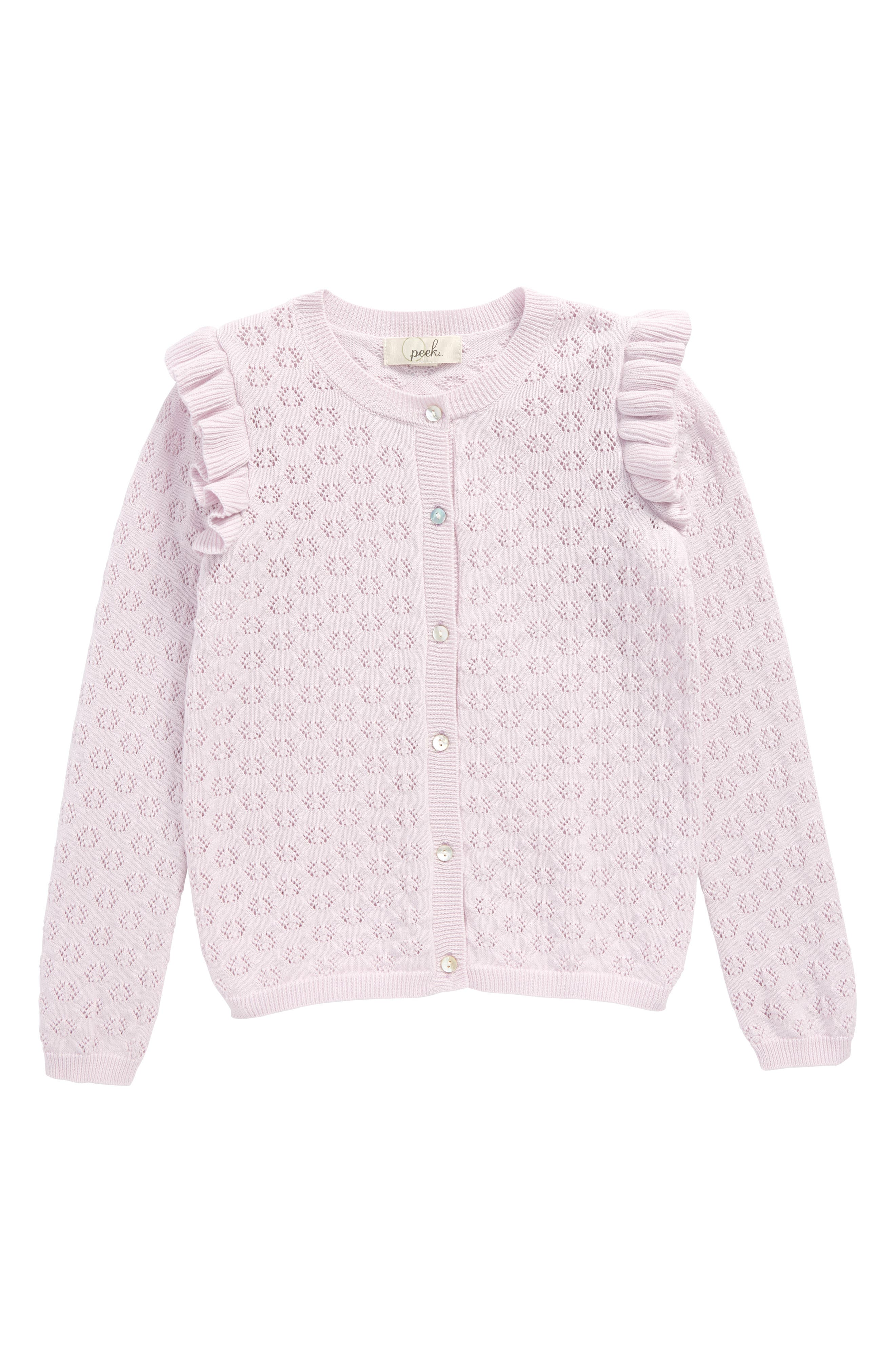 Peek Olivia Cardigan (Toddler Girls, Little Girls & Big Girls)