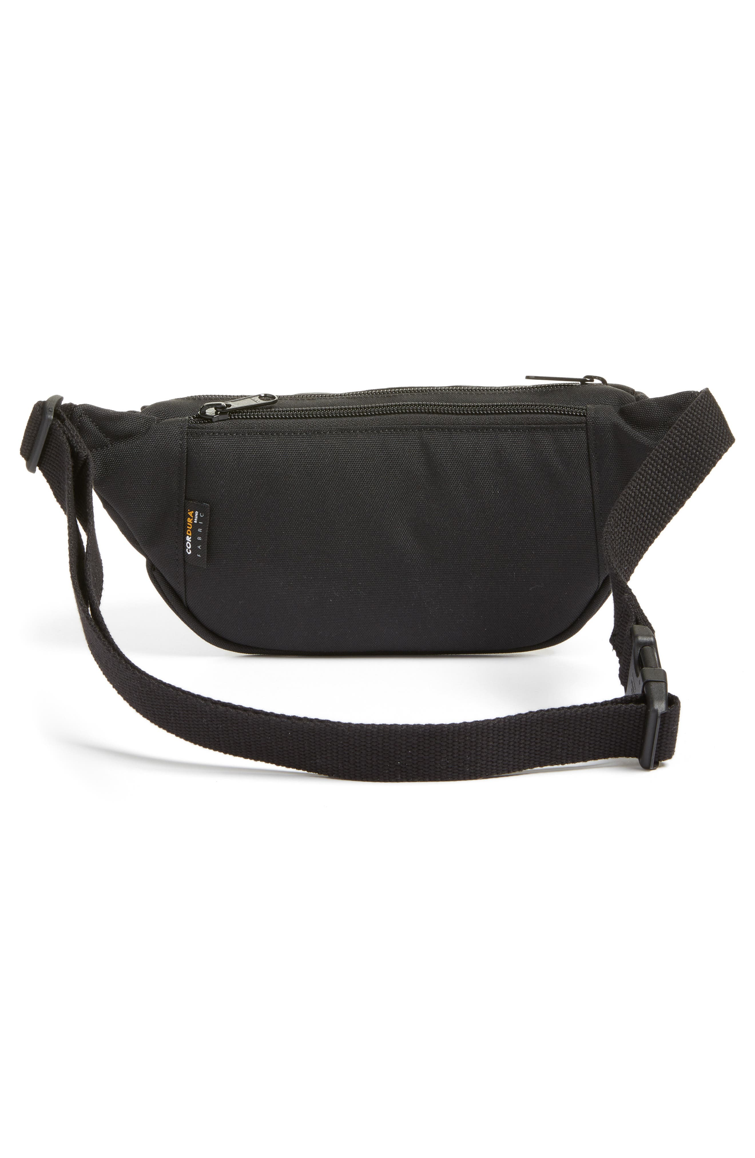 Belt Bag,                             Alternate thumbnail 2, color,                             Black/Black