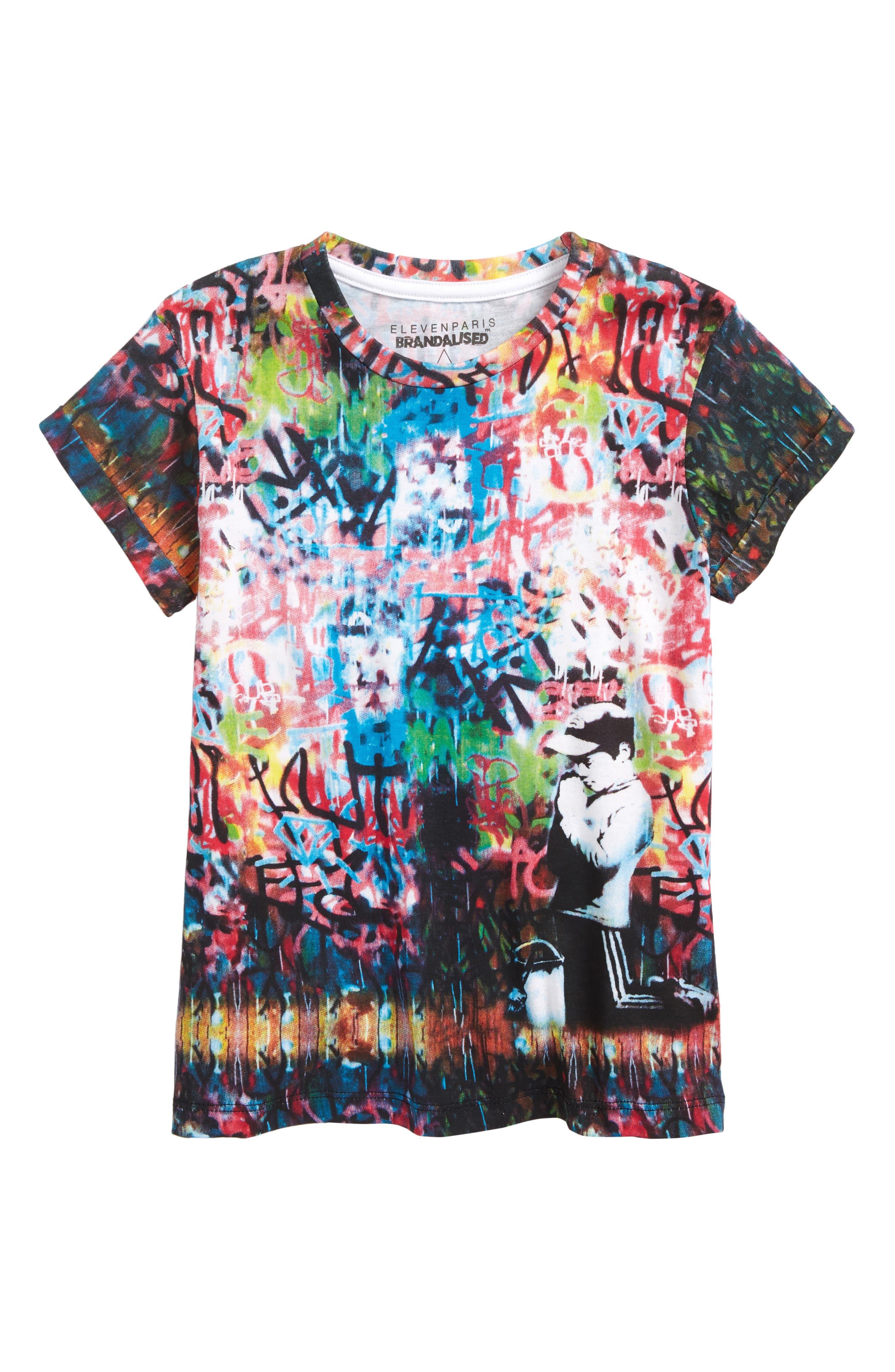 May T-Shirt,                         Main,                         color, Black