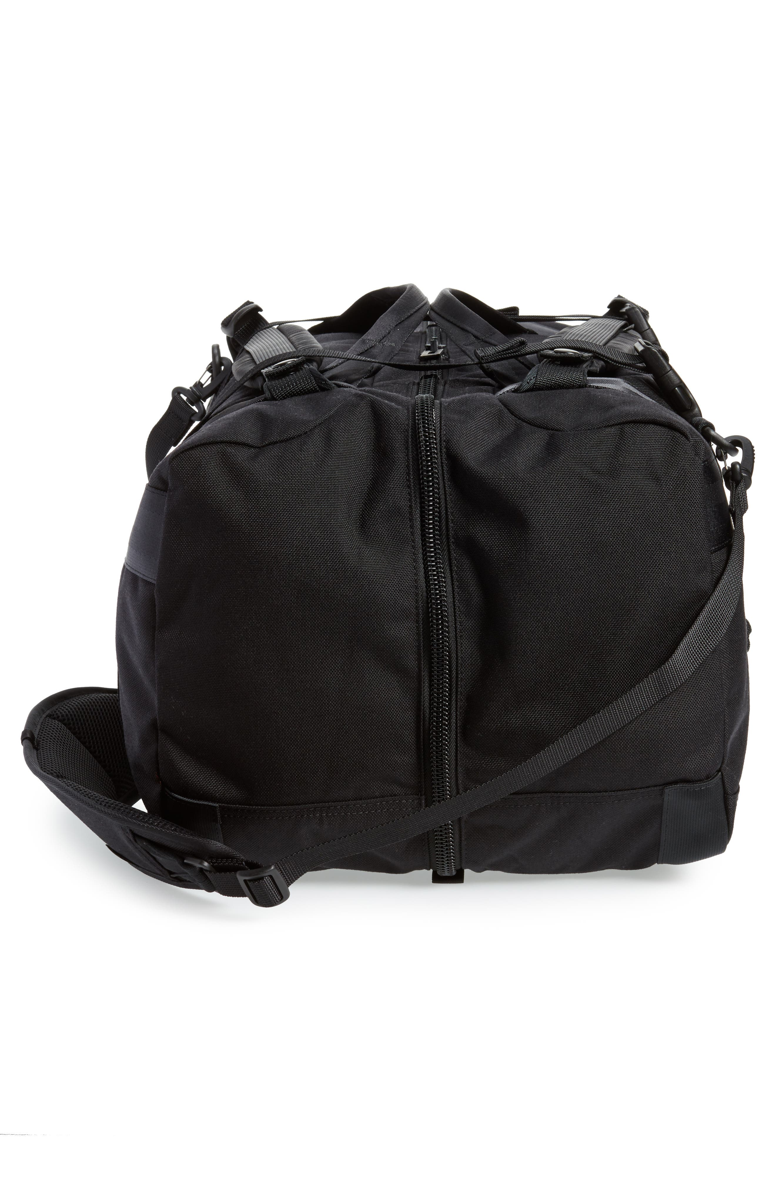 Porter-Yoshida & Co. Boothpack Convertible Duffel Bag,                             Alternate thumbnail 6, color,                             Black