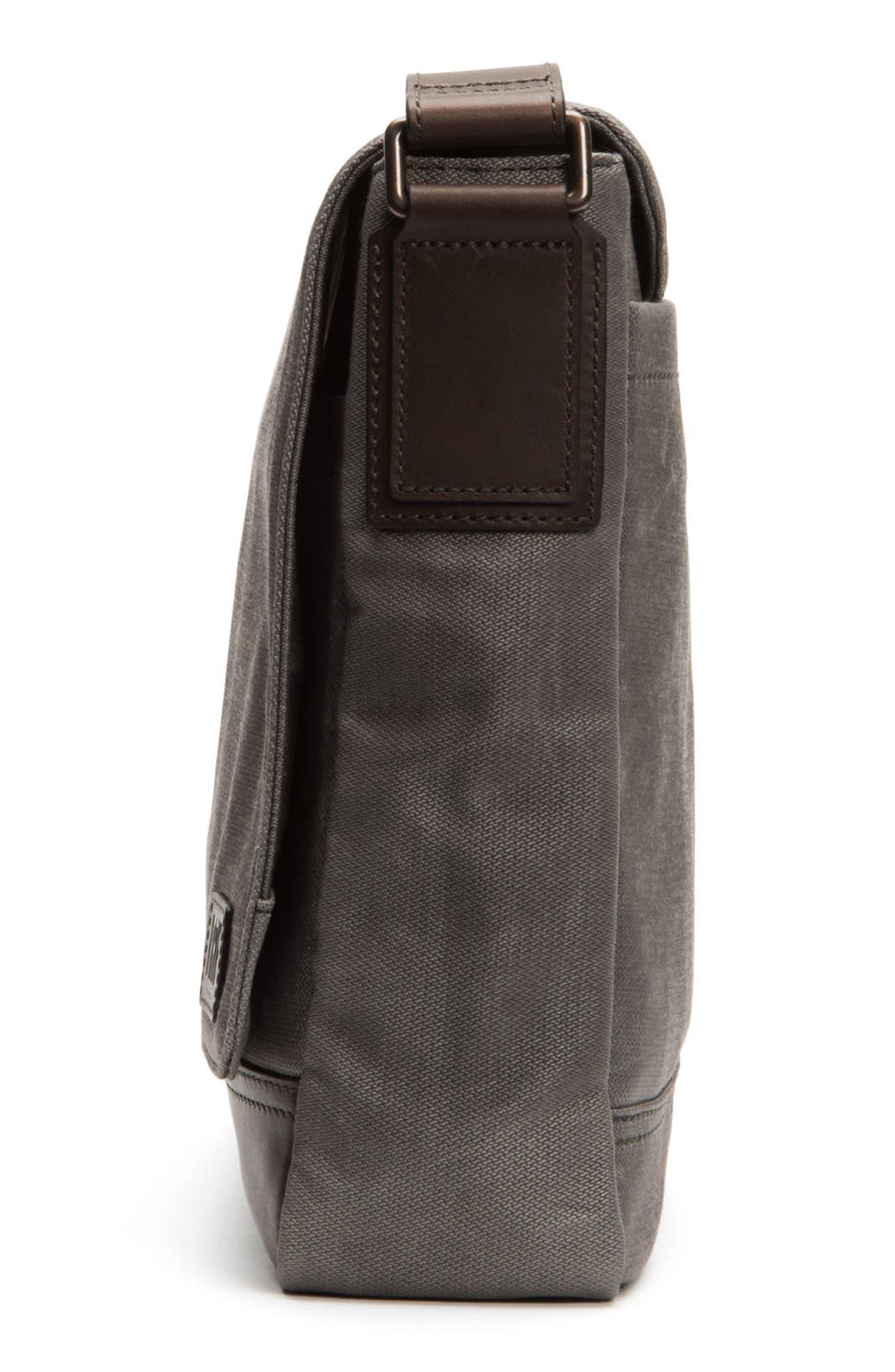 Frey Carter Messenger Bag,                             Alternate thumbnail 5, color,                             Slate