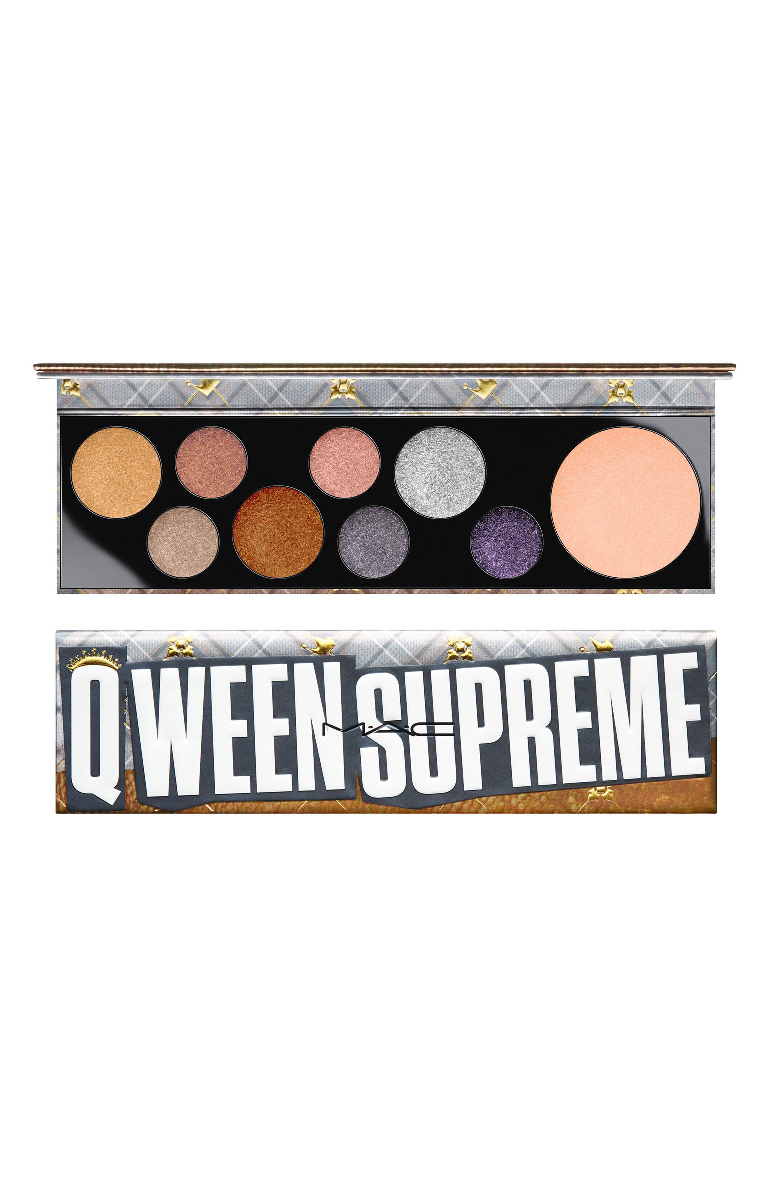 MAC Girls Qween Supreme Palette,                             Main thumbnail 1, color,                             Qween Supreme