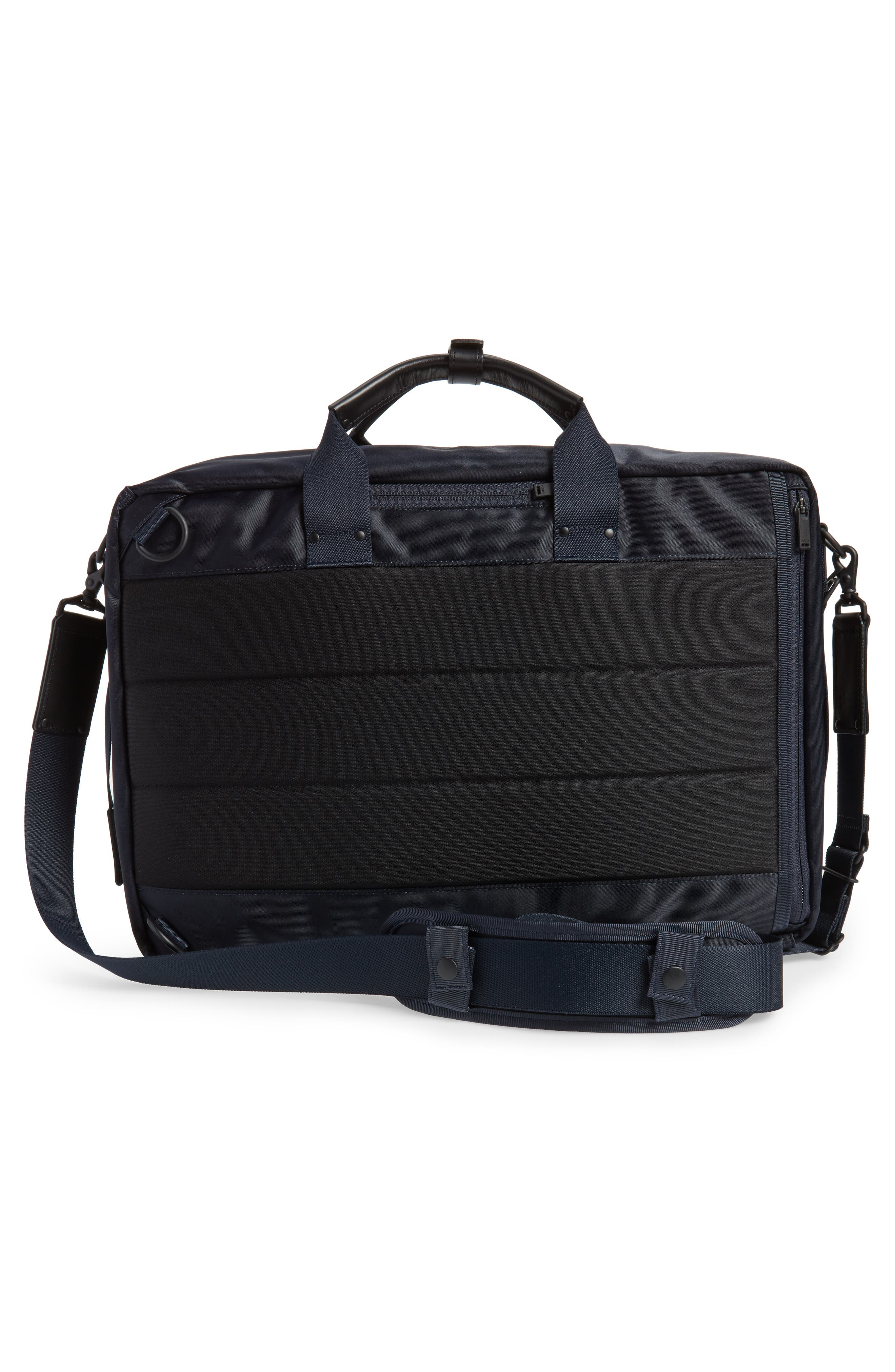 Porter-Yoshida & Co. Lift Convertible Briefcase,                             Alternate thumbnail 3, color,                             Navy