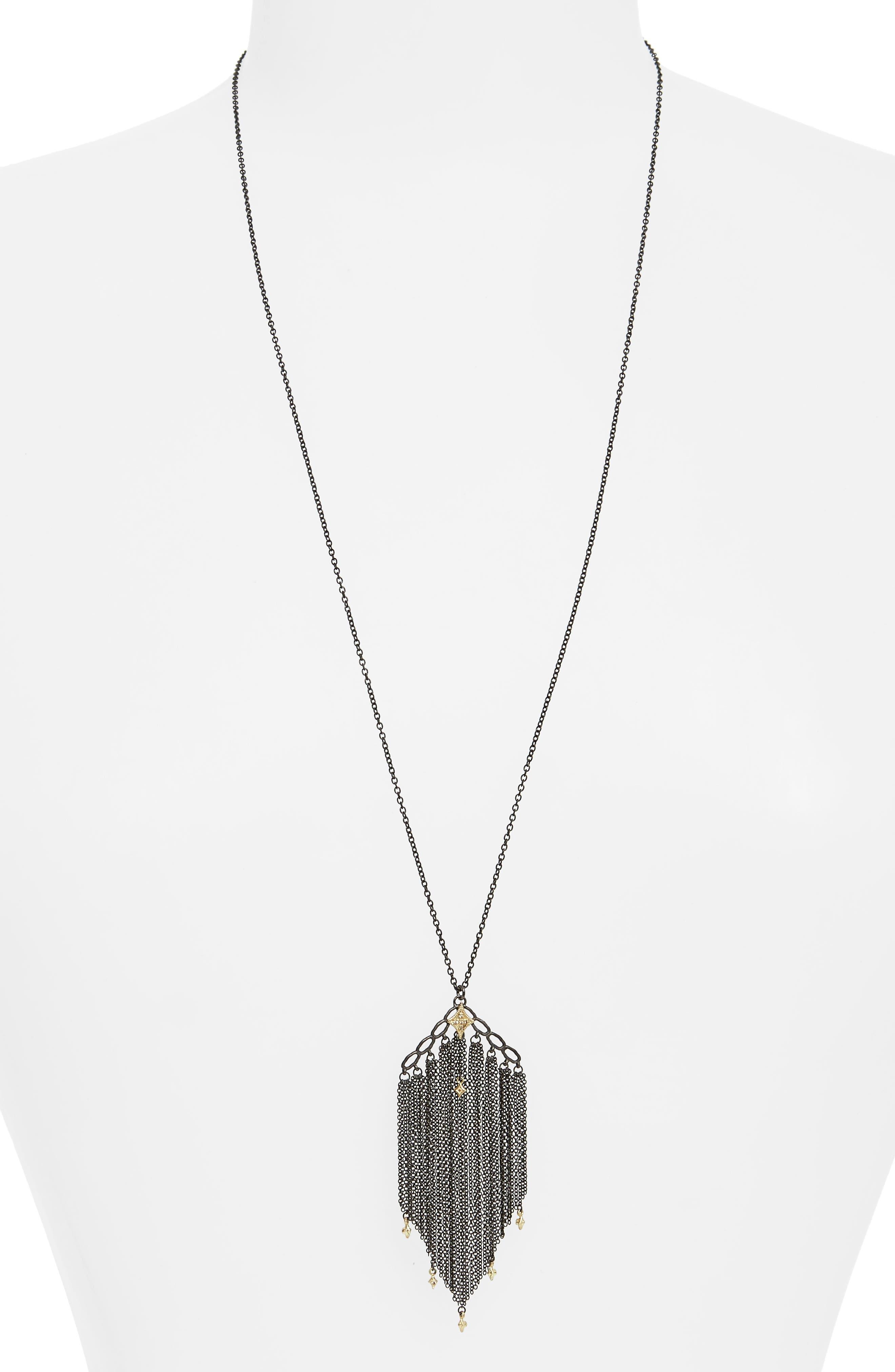 Armenta Old World Crivelli Tassel Necklace