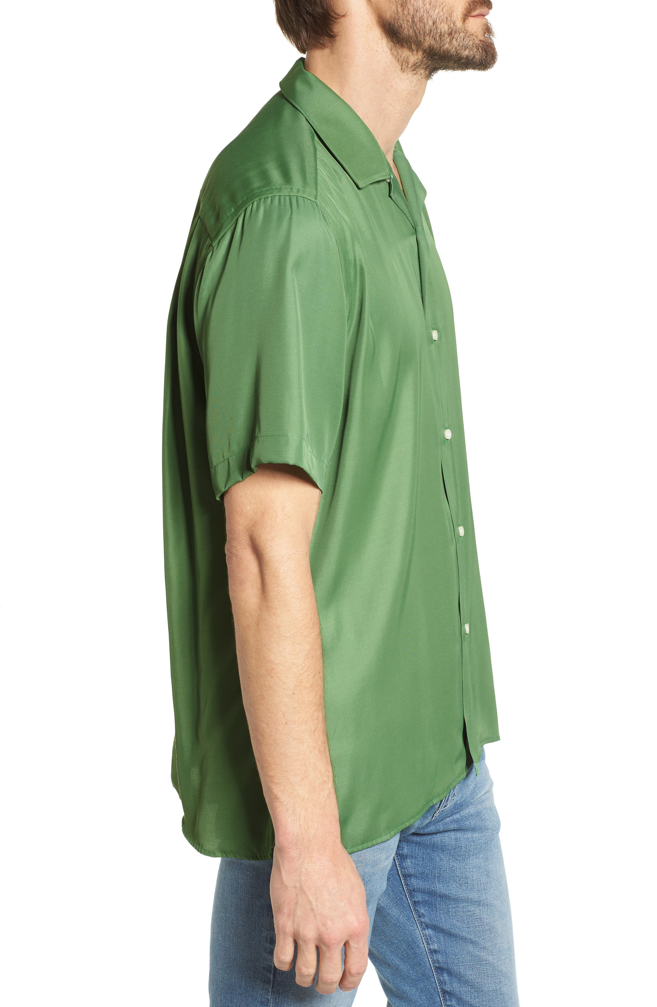Alternate Image 3  - Gitman Camp Shirt