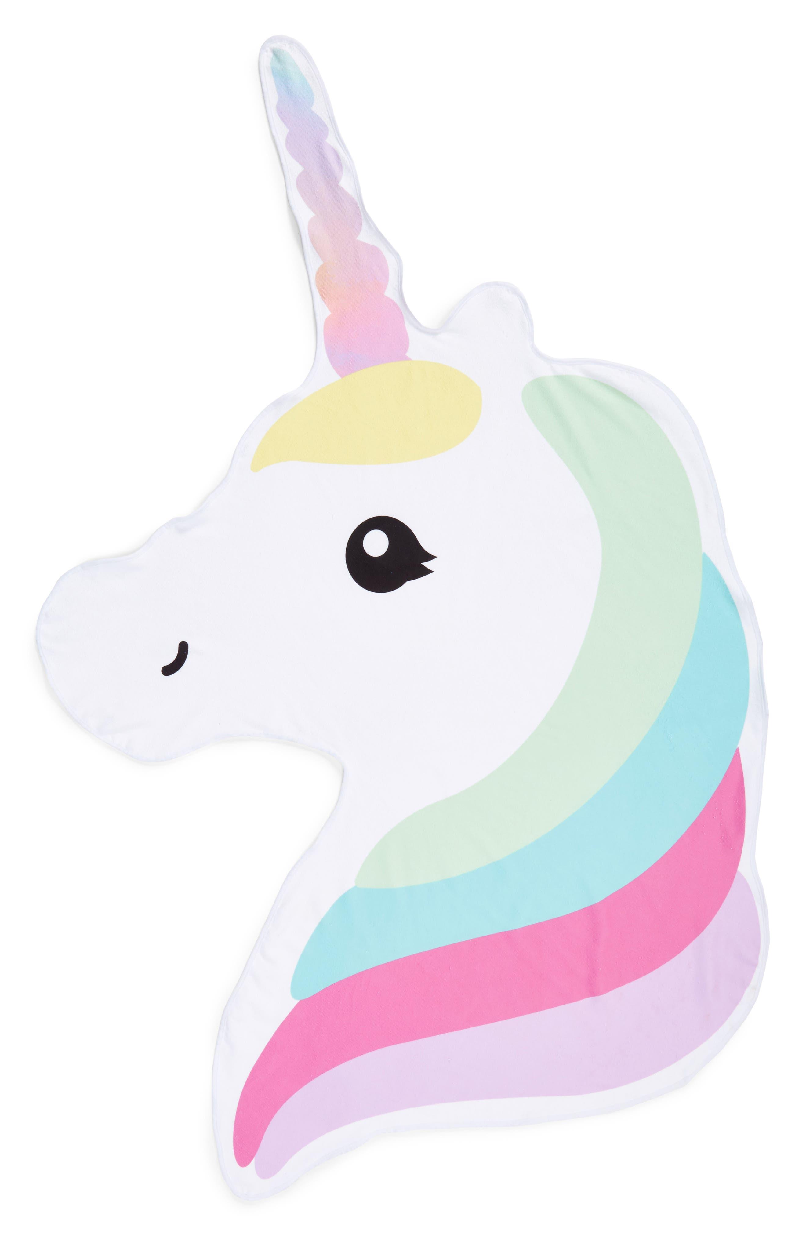 Unicorn Towel,                         Main,                         color, Sweet Unicorn