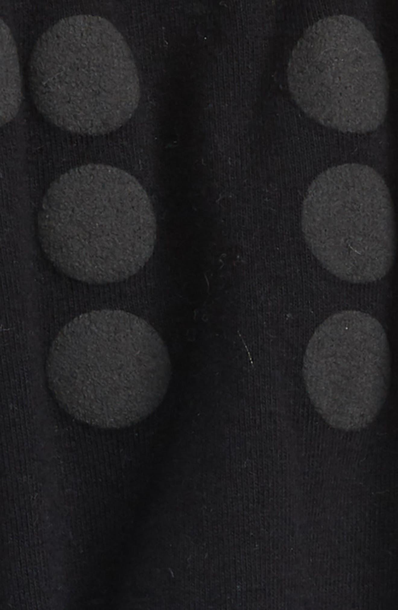 Braille Dot Jogger Pants,                             Alternate thumbnail 2, color,                             Black
