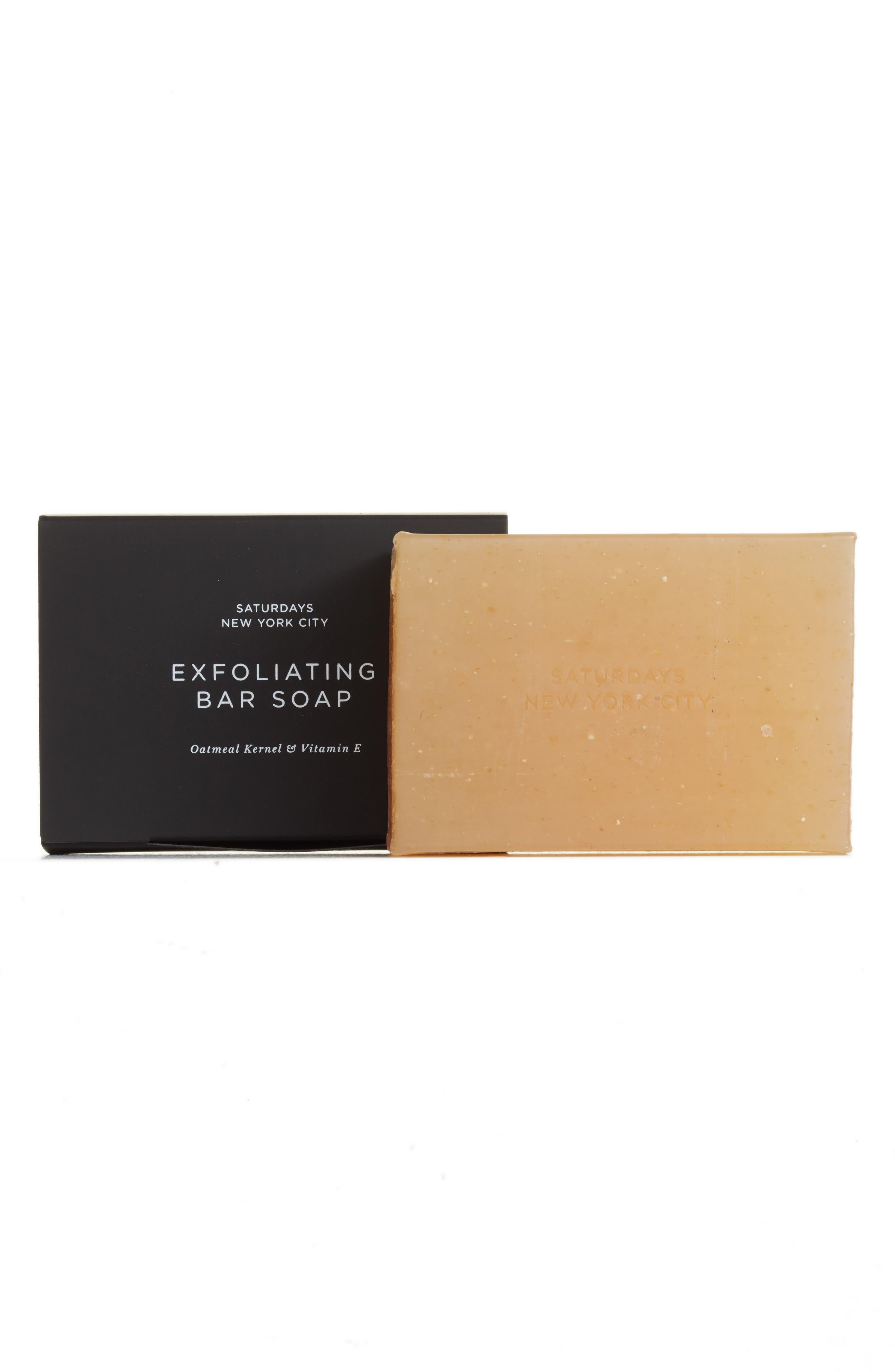 Exfoliating Bar Soap,                         Main,                         color, No Color