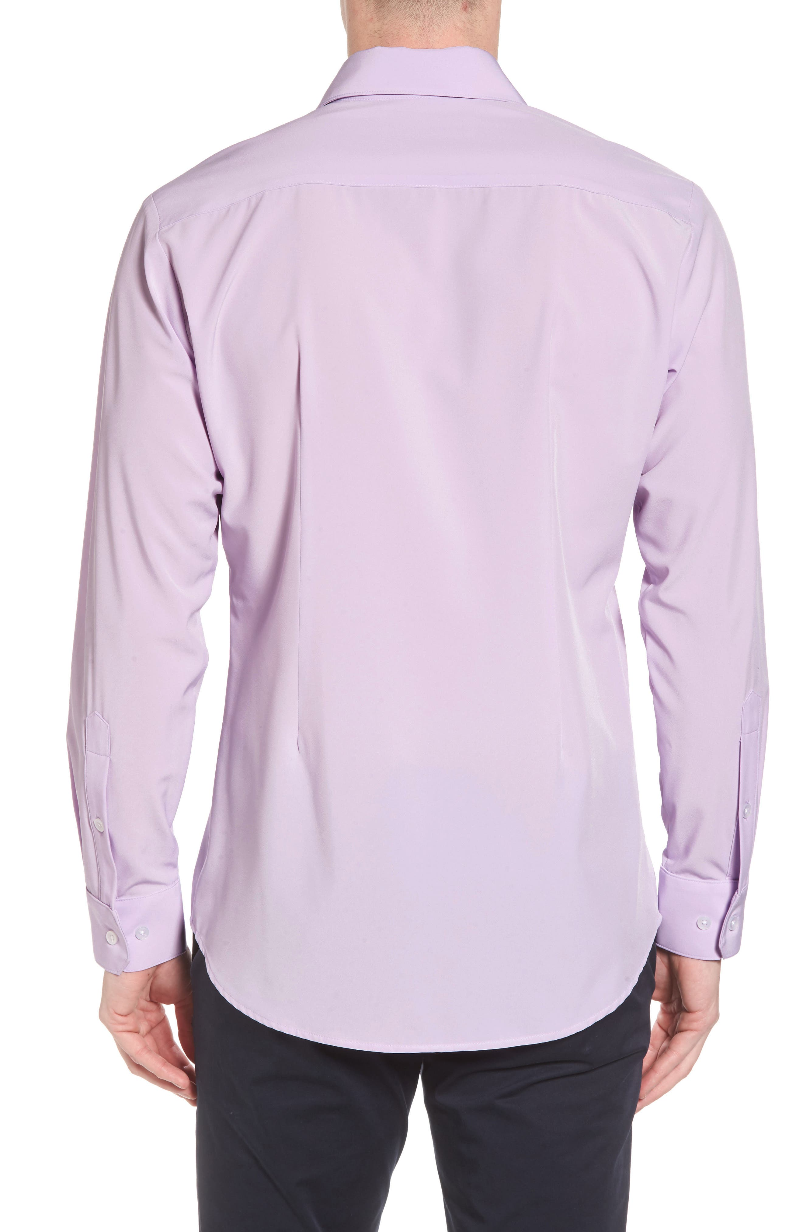 Henderson Performance Sport Shirt,                             Alternate thumbnail 2, color,                             Purple