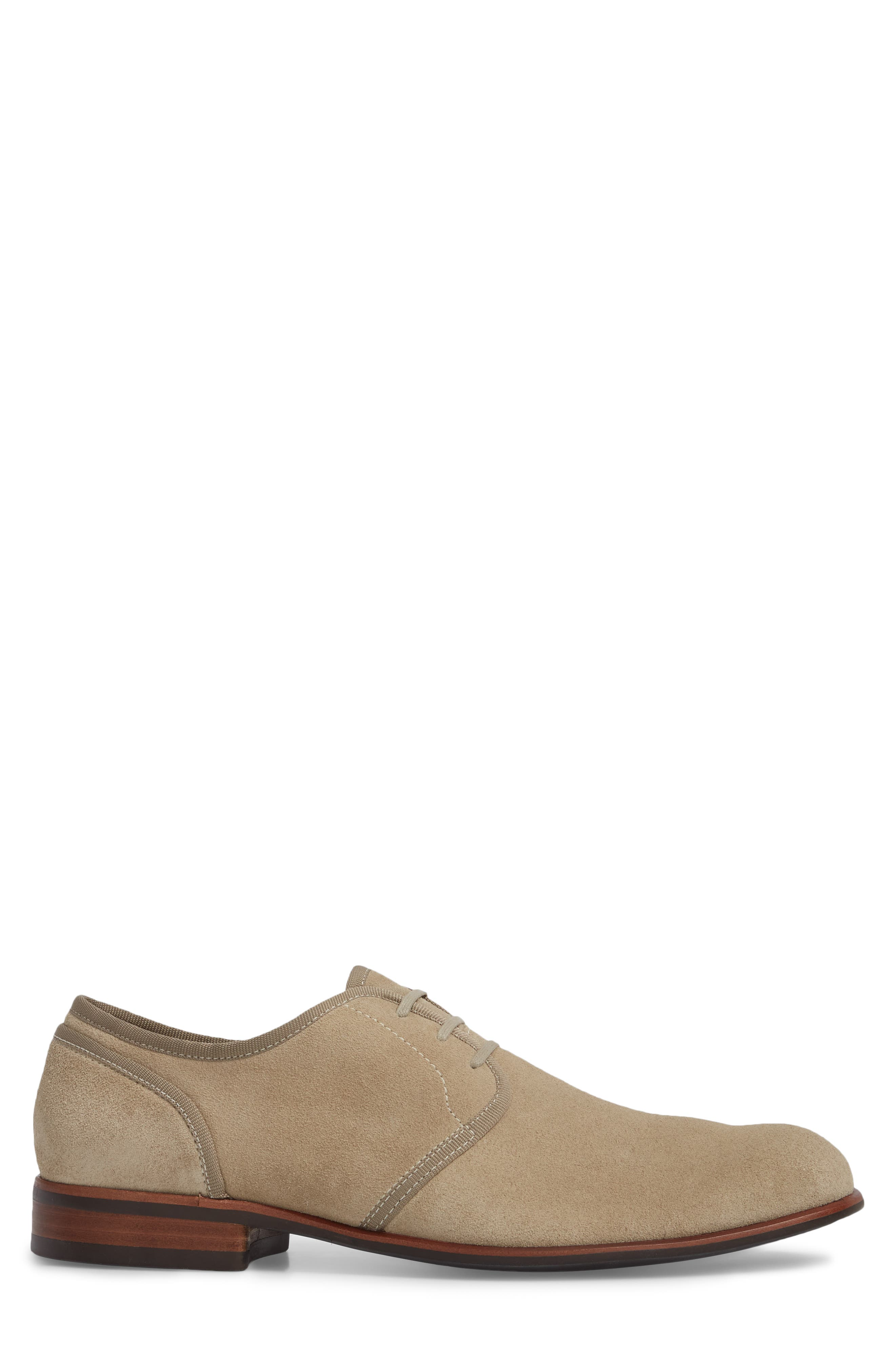 John Varvatos Star USA Seagher Plain Toe Derby,                             Alternate thumbnail 3, color,                             Lt. Brown