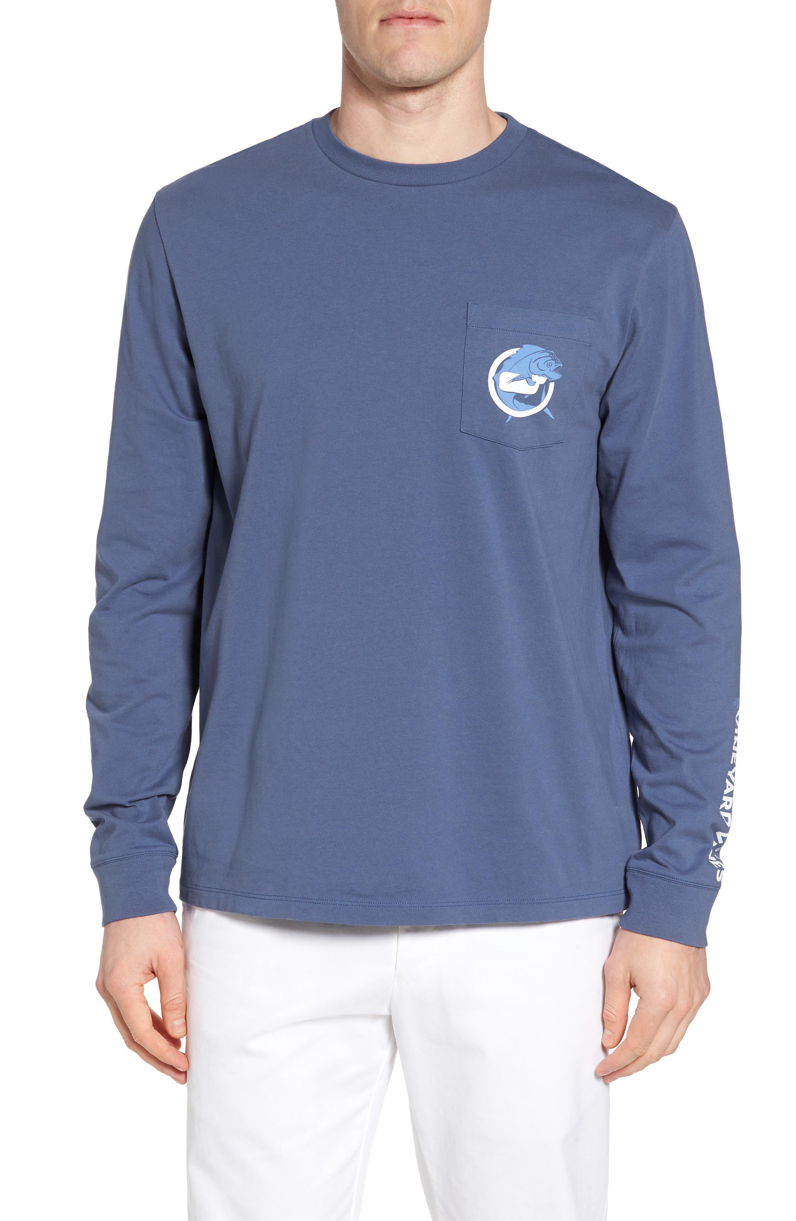 Mahi Long Sleeve T-Shirt,                             Main thumbnail 1, color,                             Moonshine