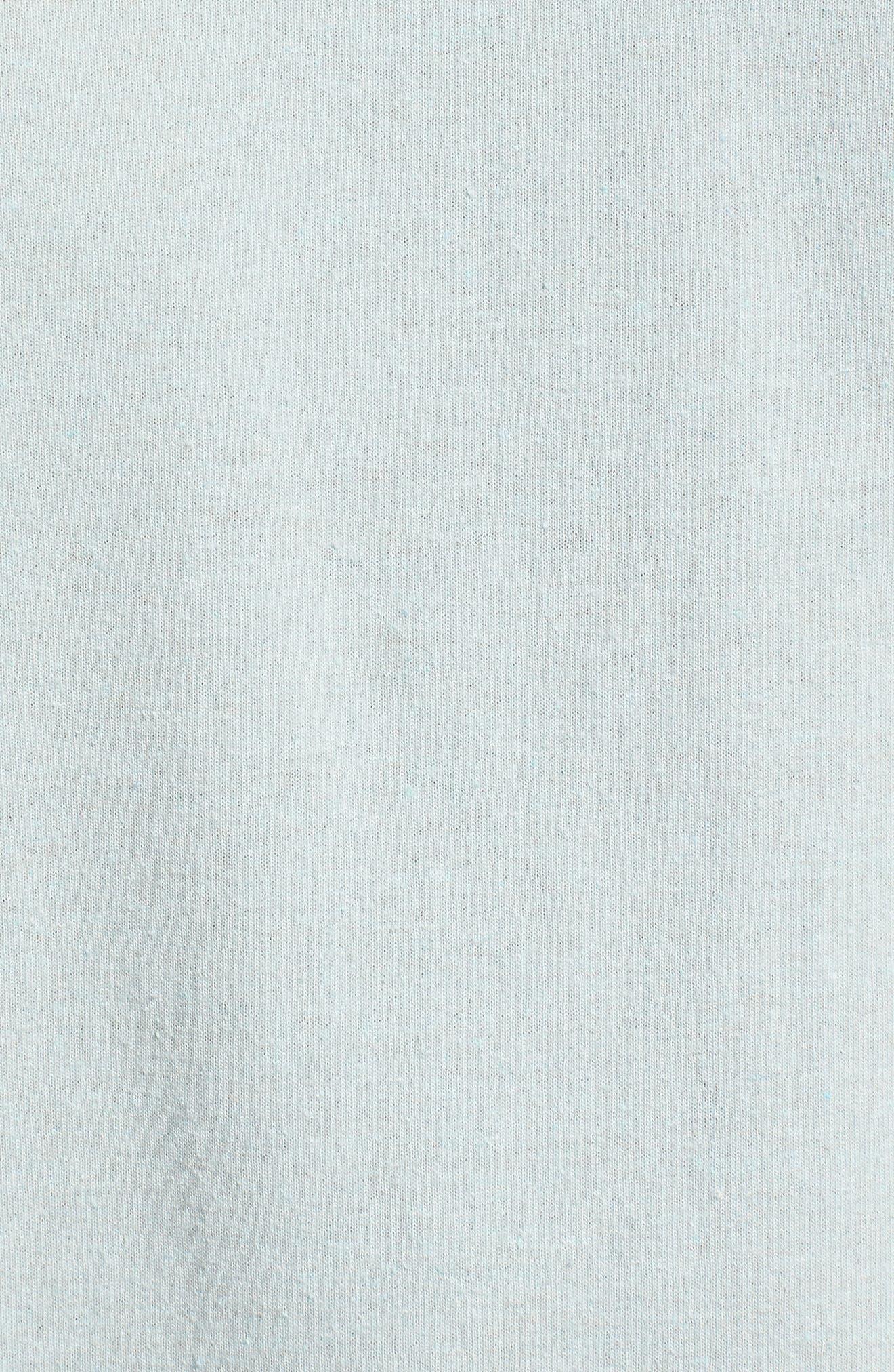 Dawn Patrol Graphic T-Shirt,                             Alternate thumbnail 5, color,                             Light Aqua