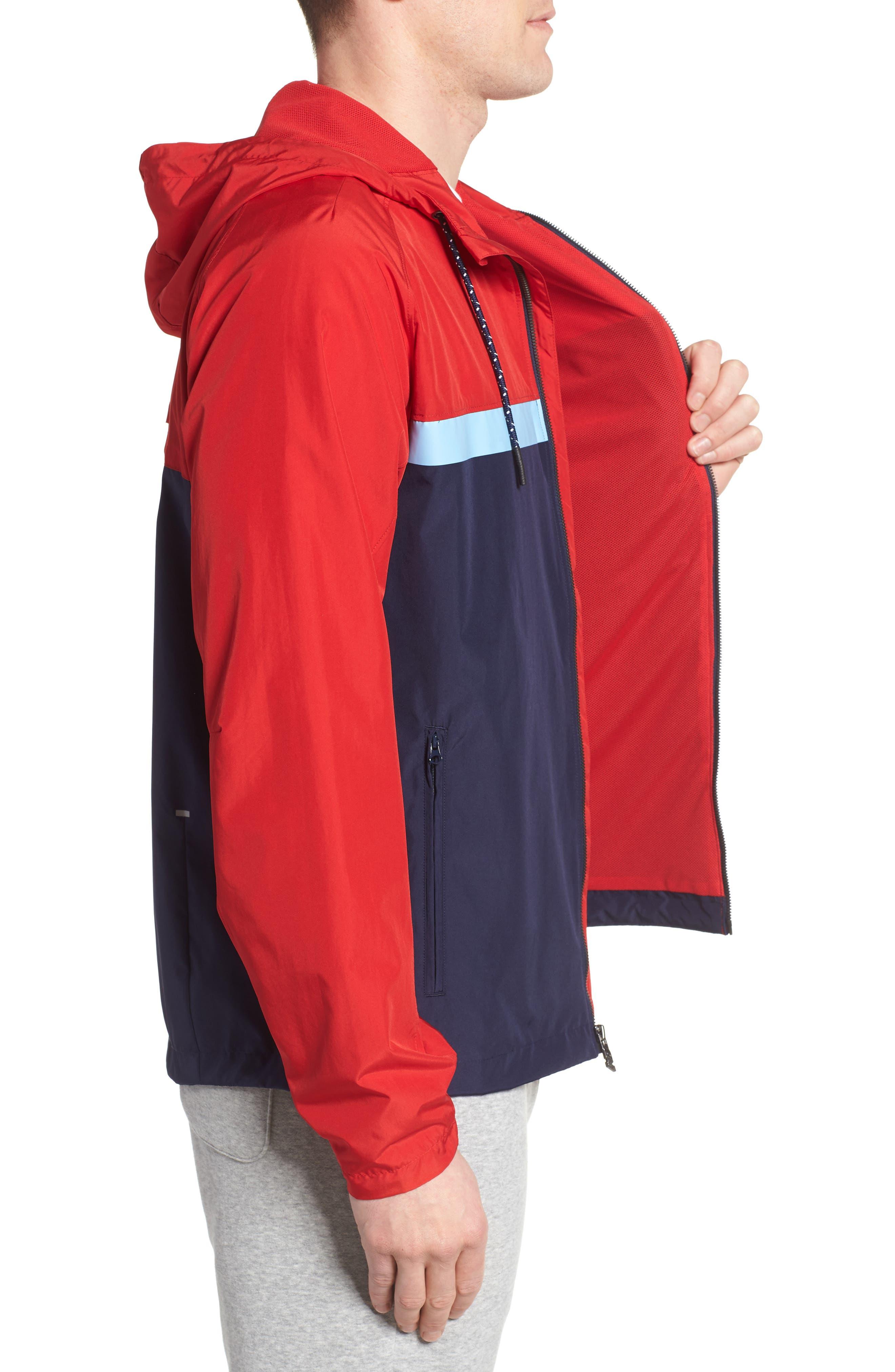 Athletics 78 Jacket,                             Alternate thumbnail 3, color,                             Team Red