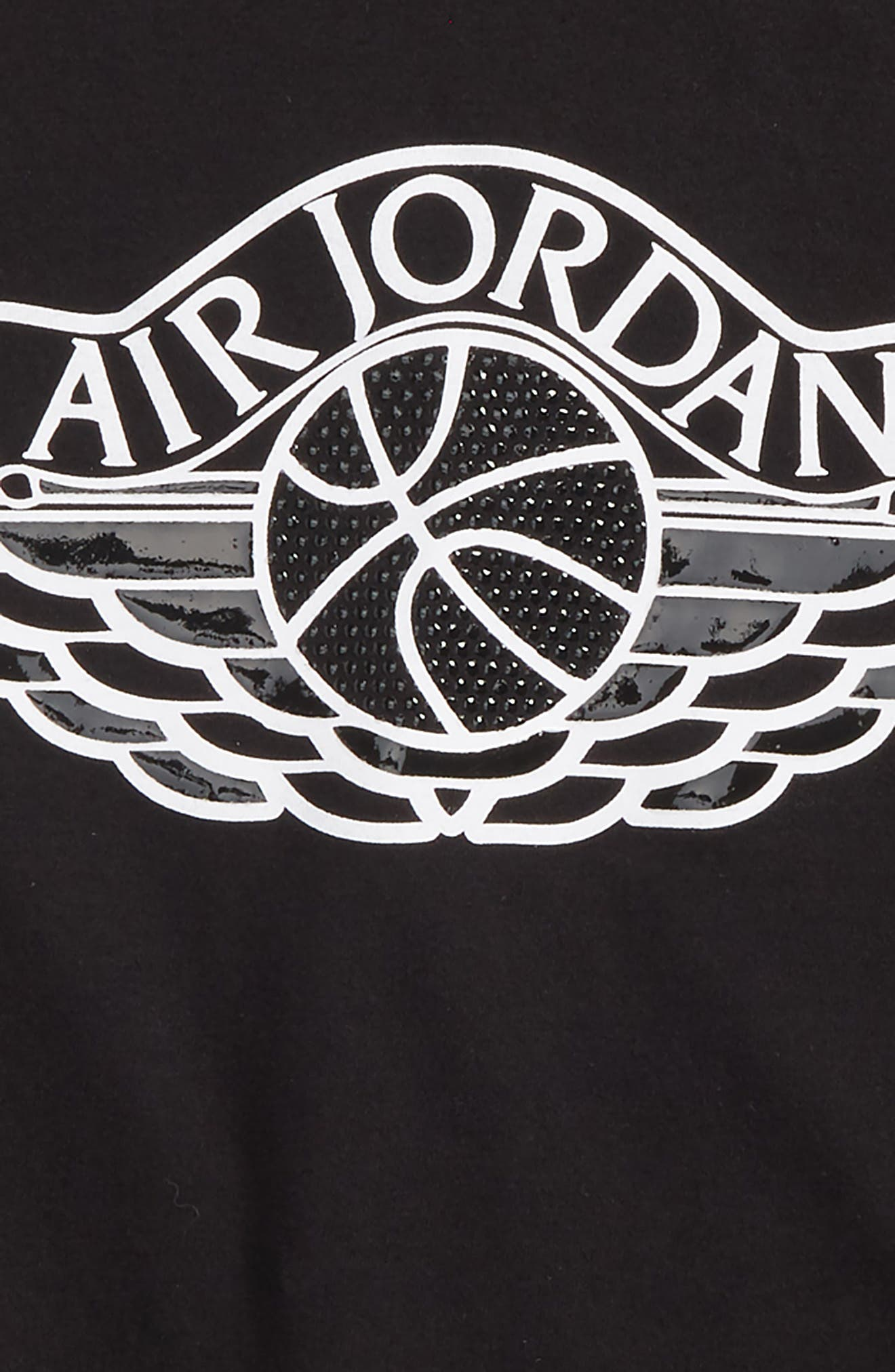 Jordan MJSW Read 5 T-Shirt,                             Alternate thumbnail 2, color,                             Black