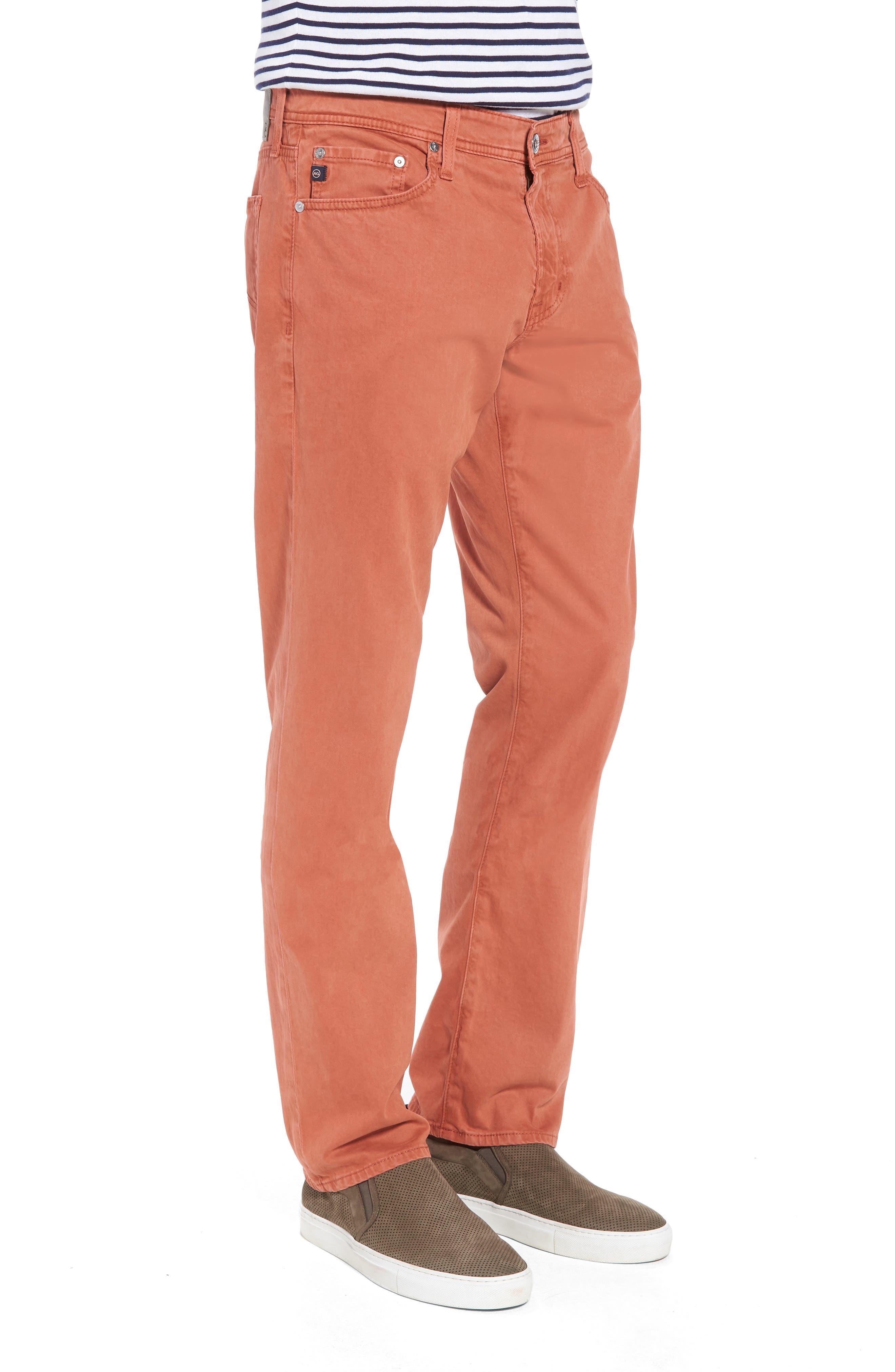 Graduate SUD Slim Straight Leg Pants,                             Alternate thumbnail 3, color,                             Sulfur Rosso Red