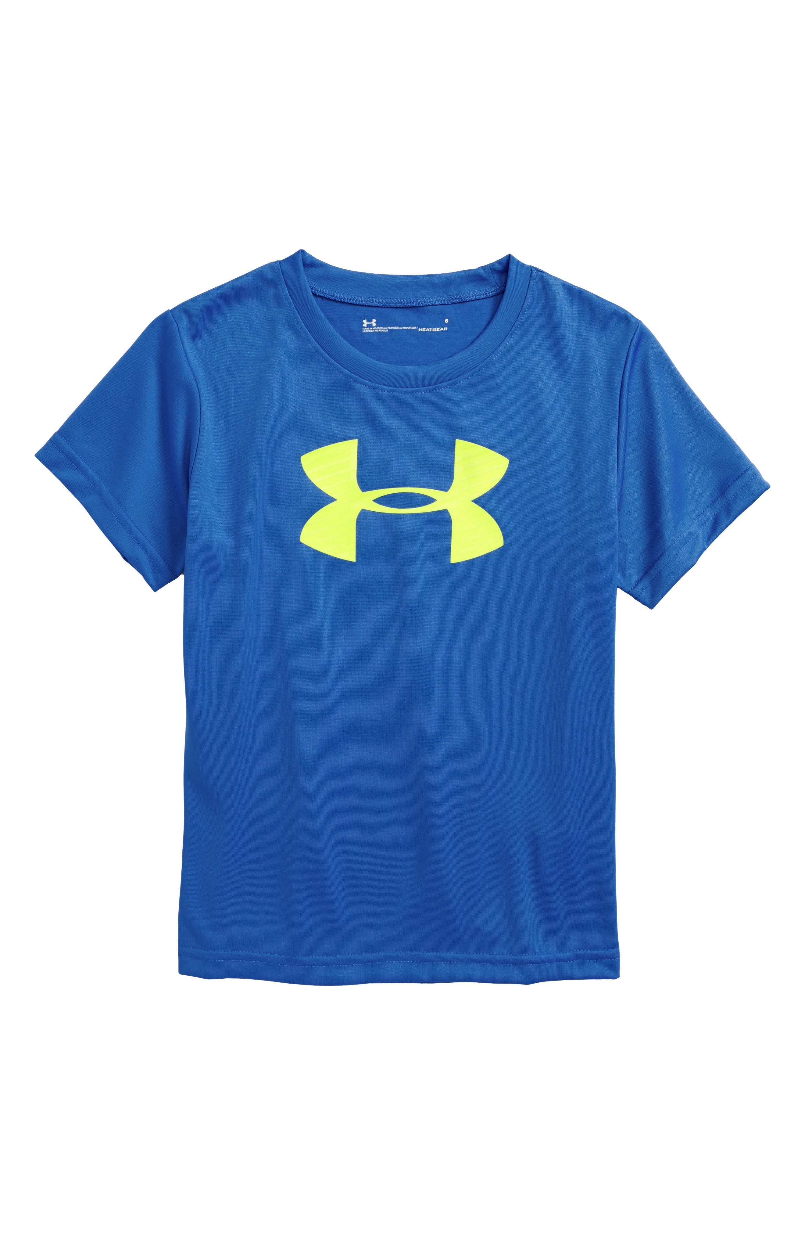 Under Armour Big Logo HeatGear® T-Shirt (Toddler Boys & Little Boys)