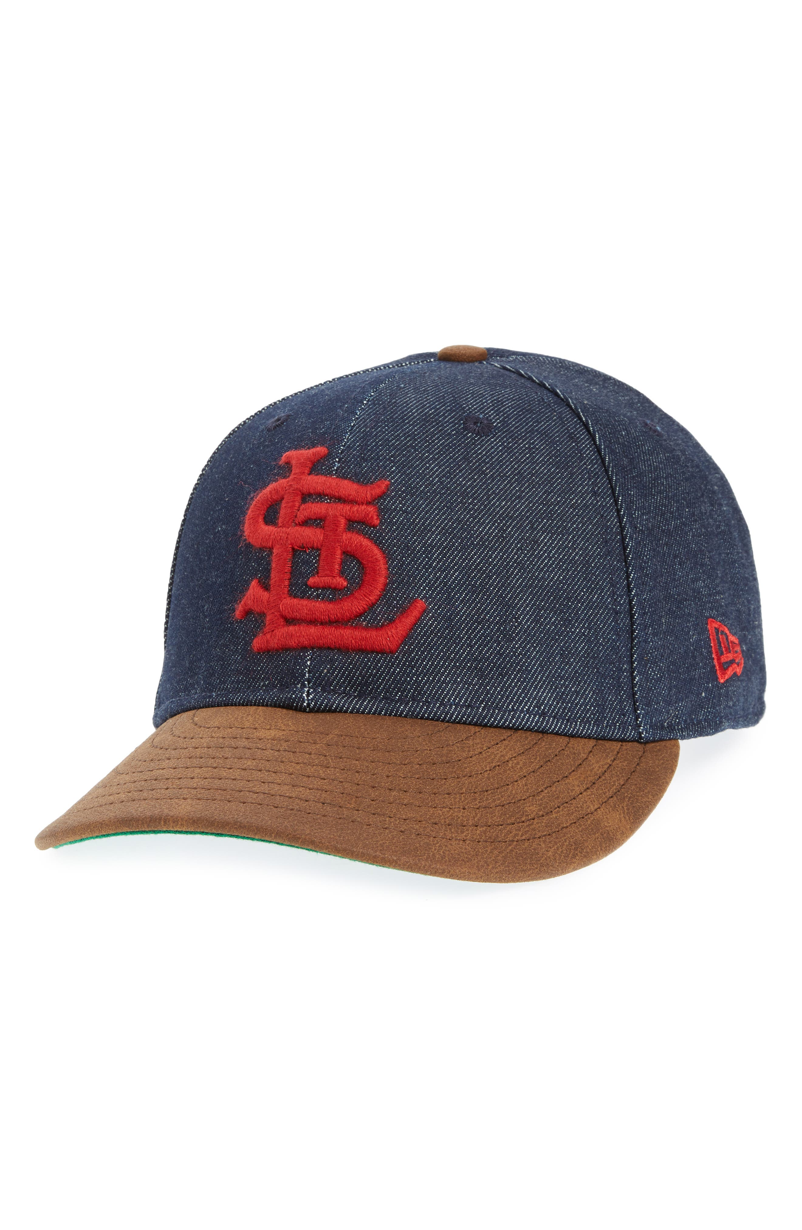 d32fec7f56b New Era X Levi S Mlb Logo Ball Cap - Black In St Louis Cardinals ...