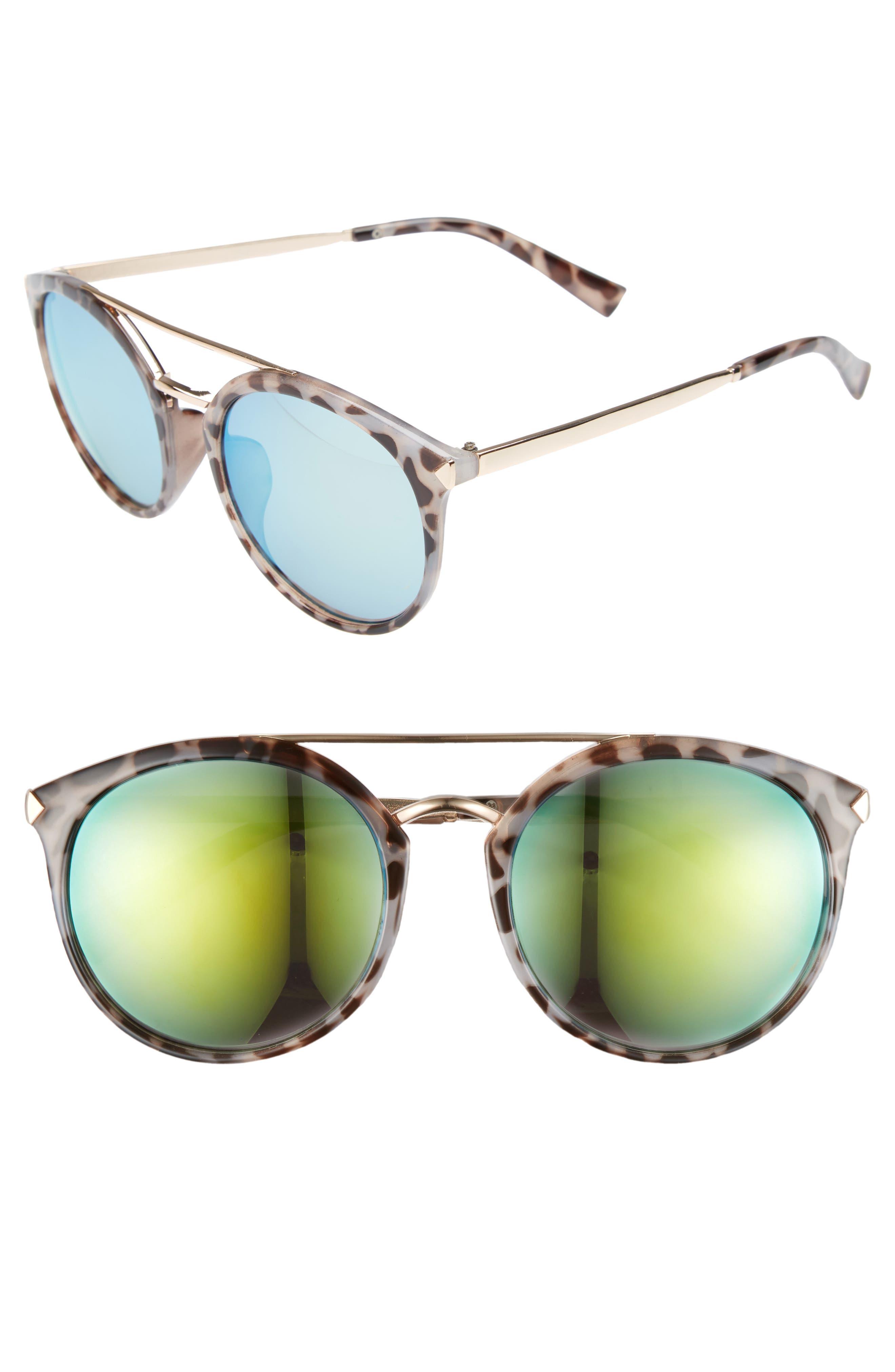 Alternate Image 1 Selected - BP. 55mm Mirrored Sunglasses