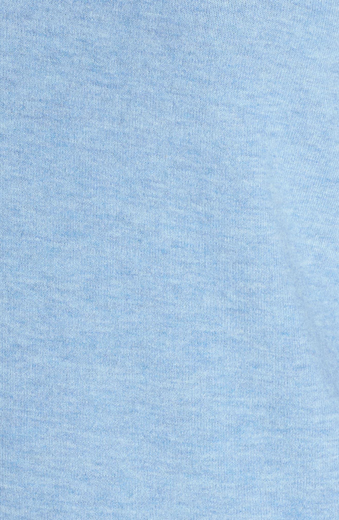 Peachy Pajama Shirt,                             Alternate thumbnail 8, color,                             Blue