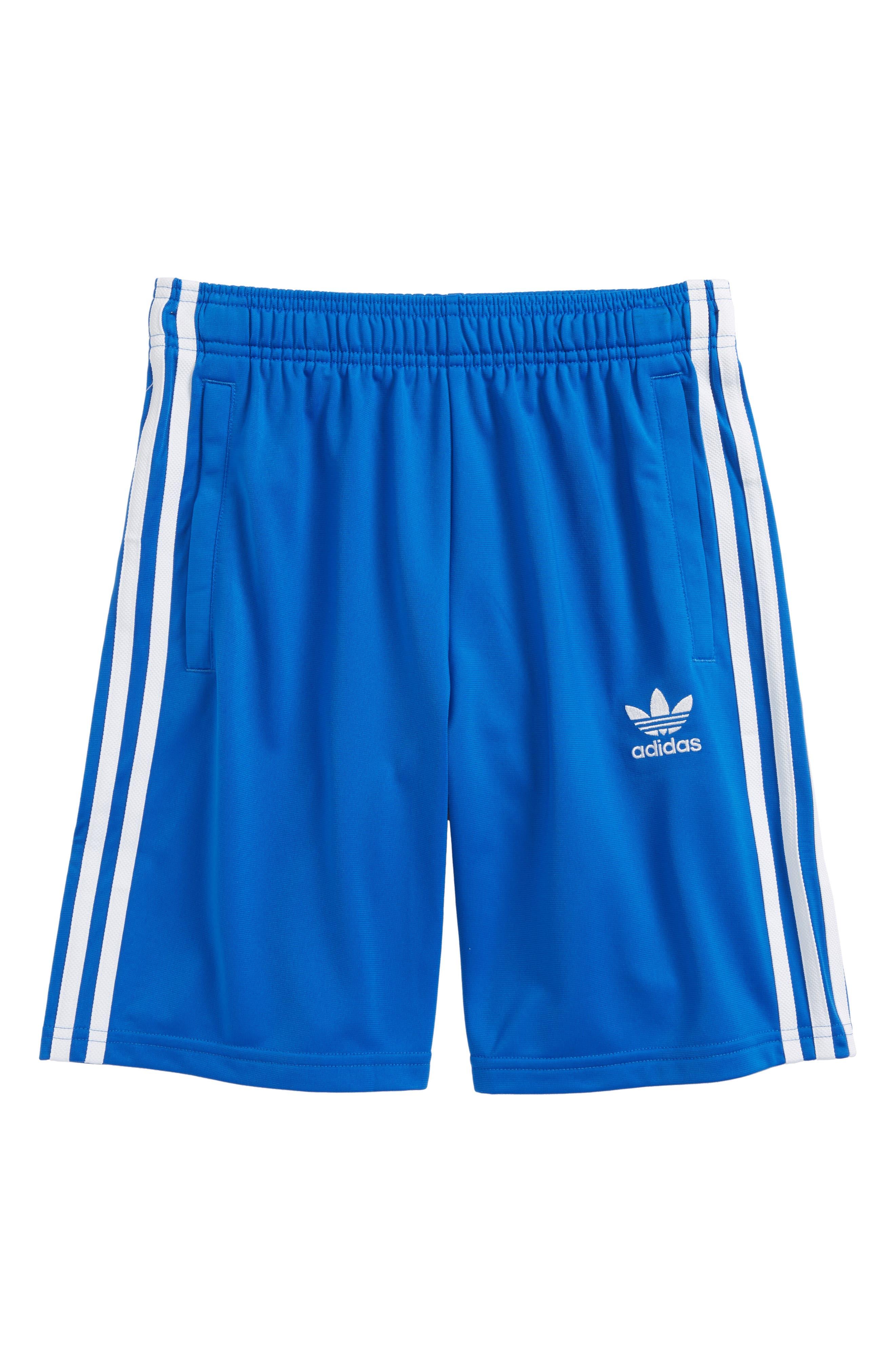 Shorts,                             Main thumbnail 1, color,                             Blue/ White