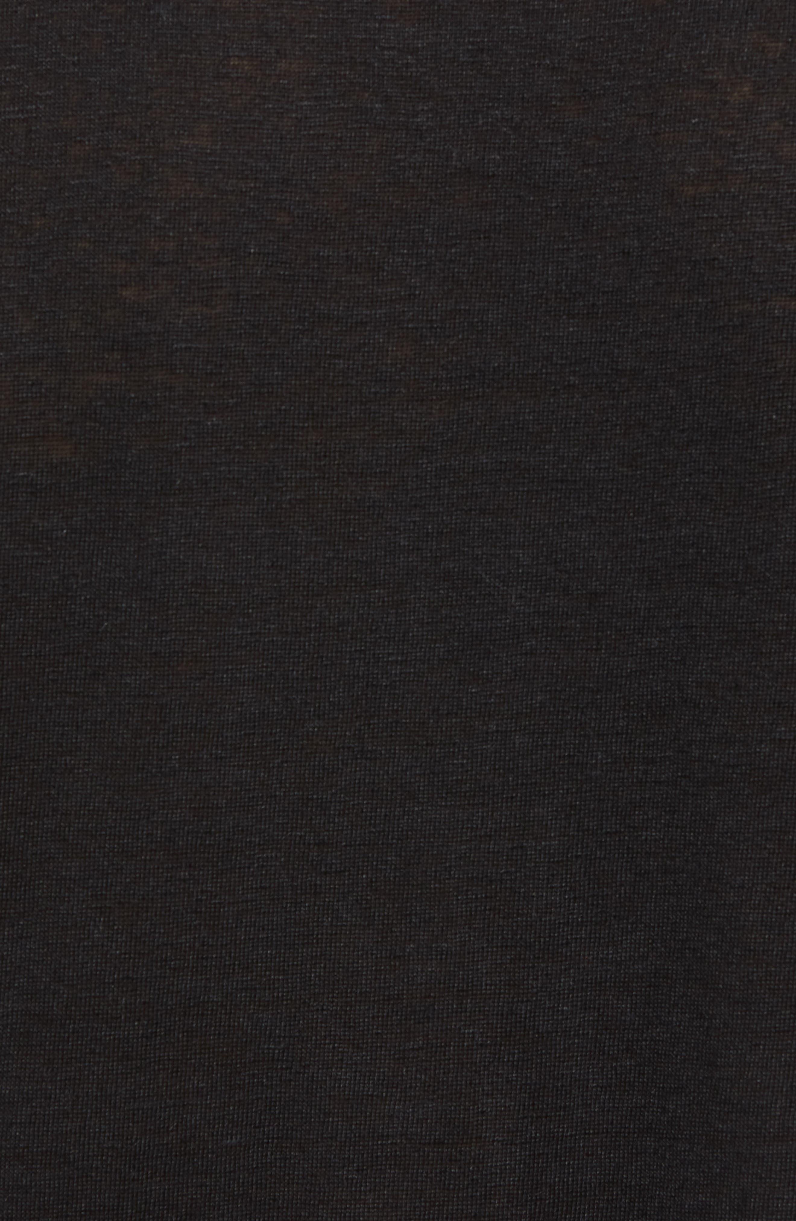 Alternate Image 5  - Vince Slim Fit Tipped Linen T-Shirt