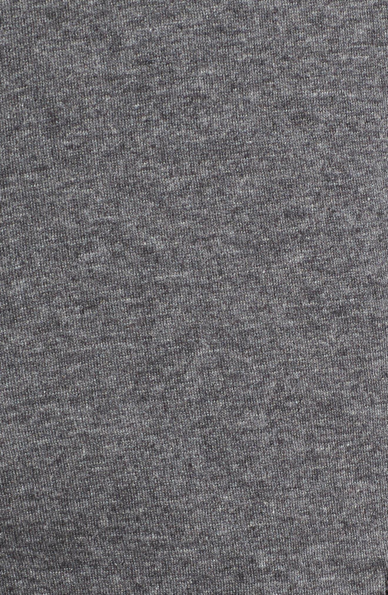 Sportswear Modern Shorts,                             Alternate thumbnail 5, color,                             Charcoal Heather/ Black