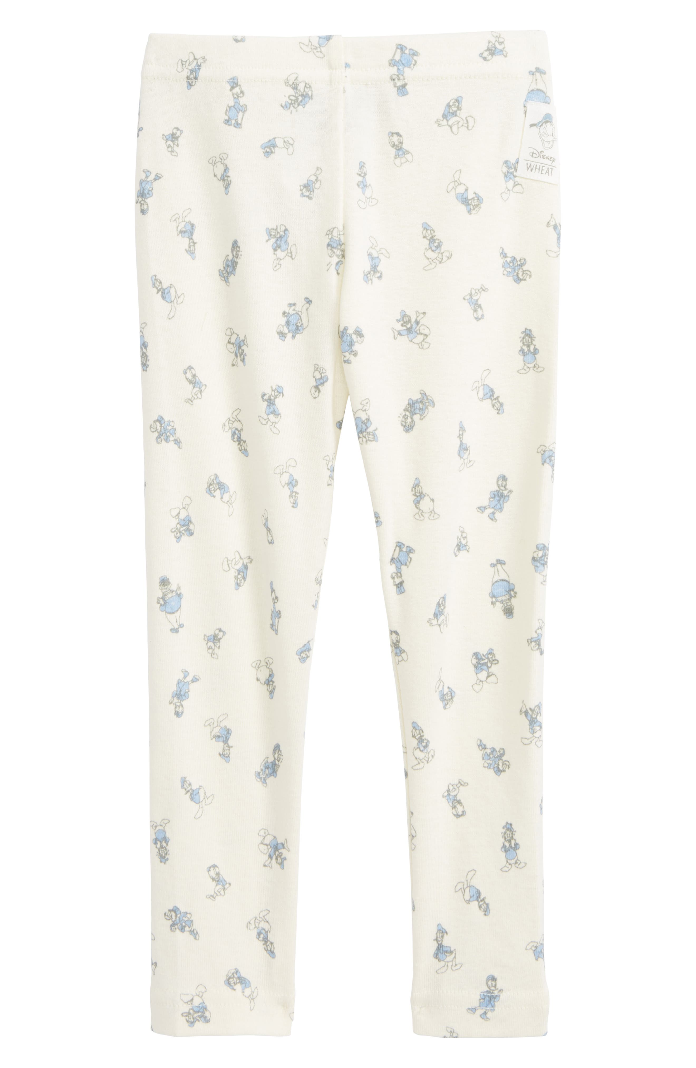 Disney Donald Duck Pants,                             Main thumbnail 1, color,                             Ivory