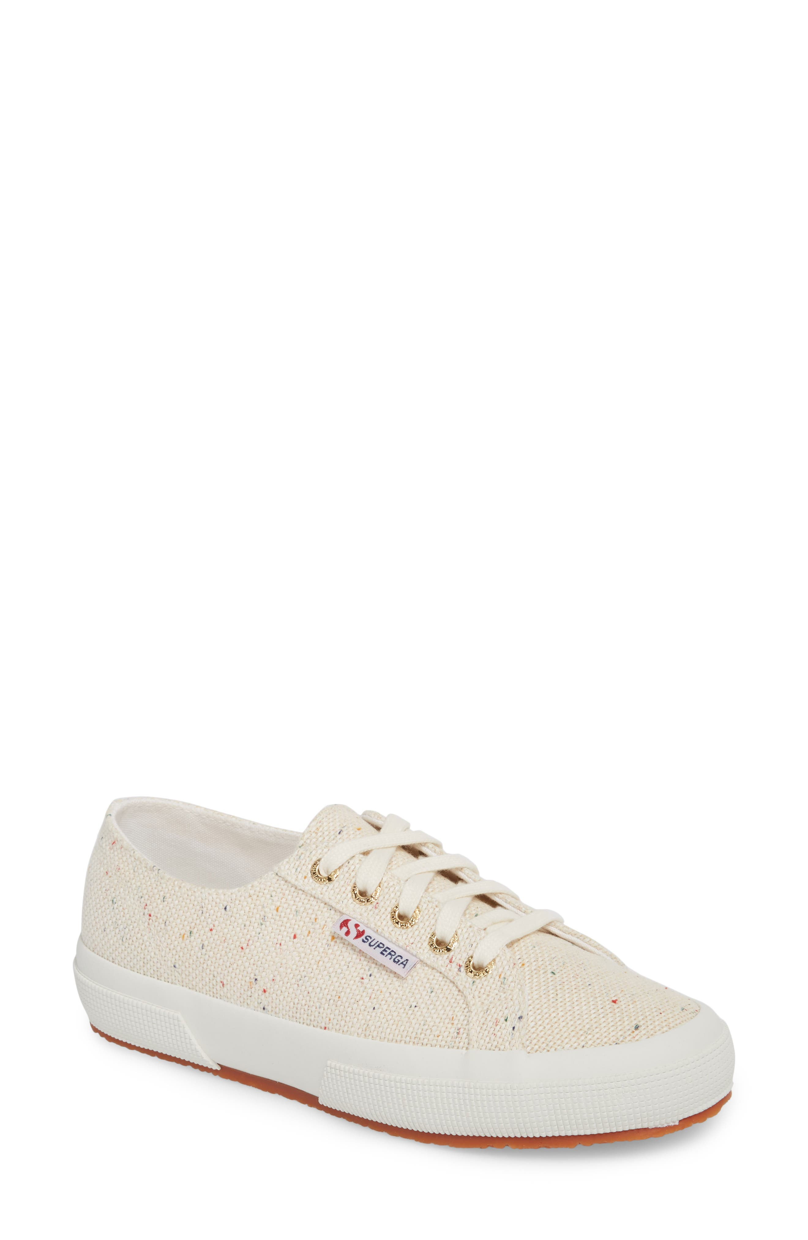 2750 Speckle Low Top Sneaker,                             Main thumbnail 1, color,                             White Multi