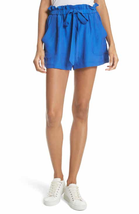 Milly Kori Paperbag Drawstring Shorts
