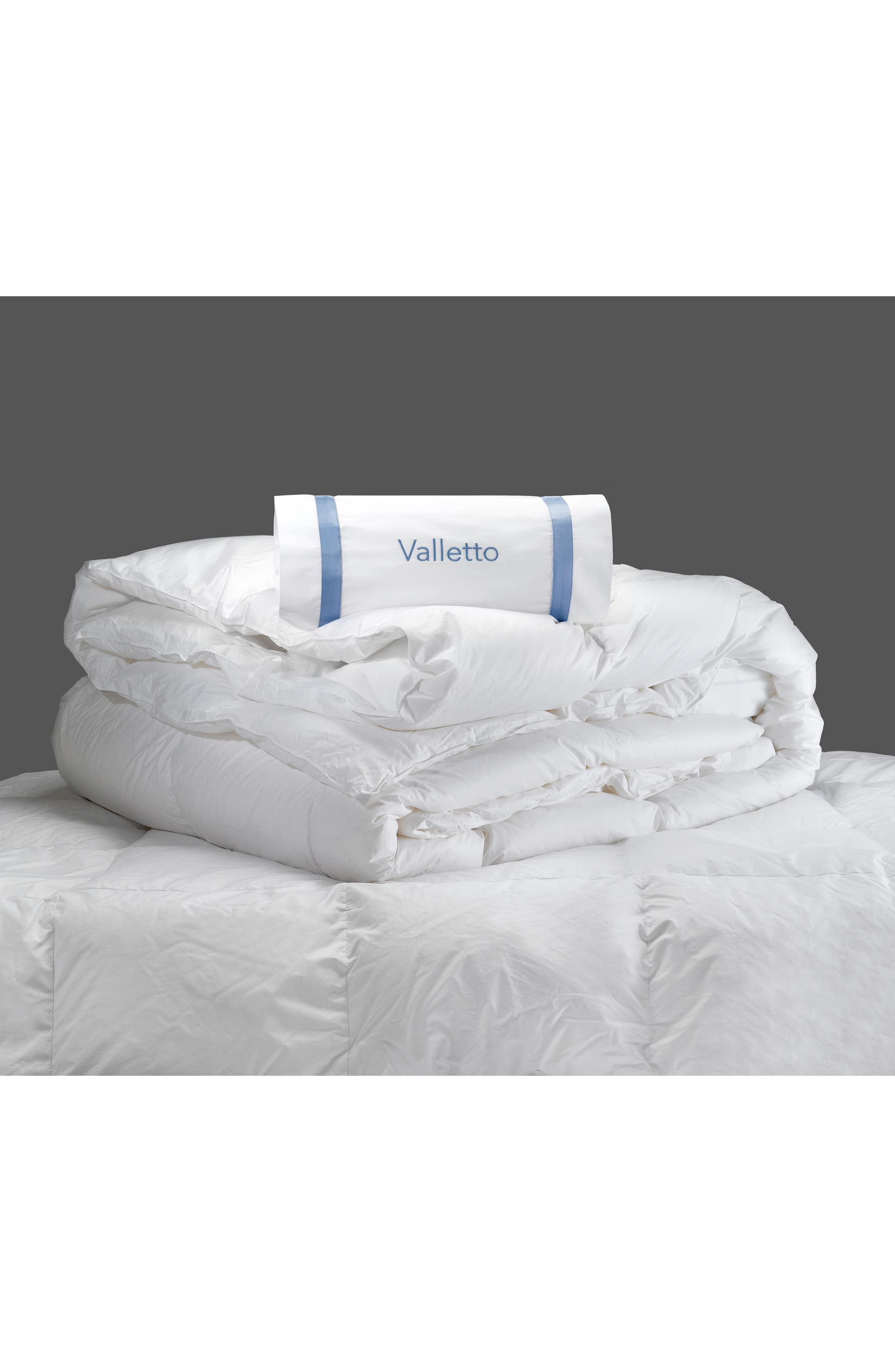 Valletto 650 Fill Power Summer Down Comforter,                             Alternate thumbnail 2, color,                             White