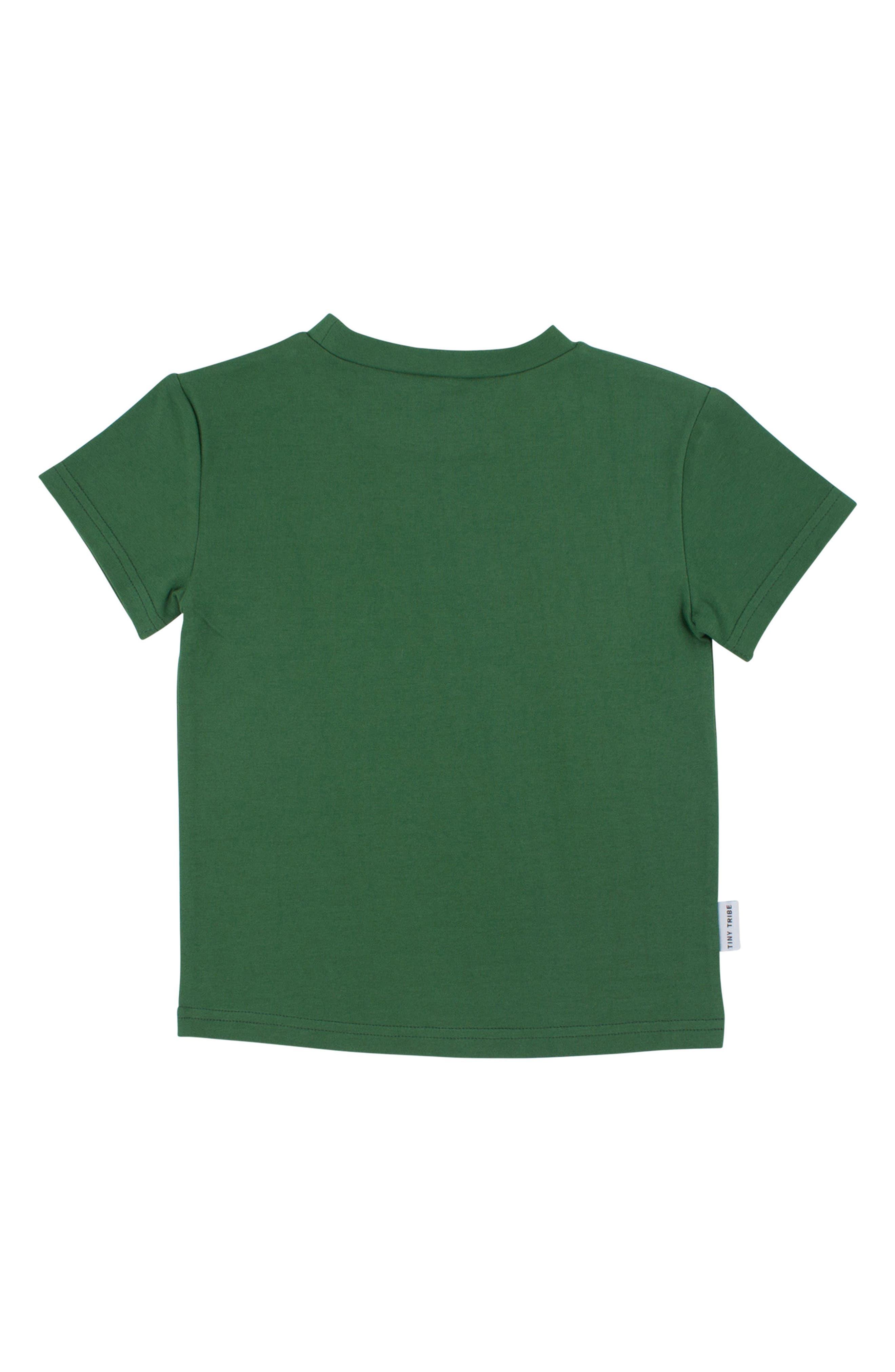 I Love Kale Graphic T-Shirt,                             Alternate thumbnail 2, color,                             Green