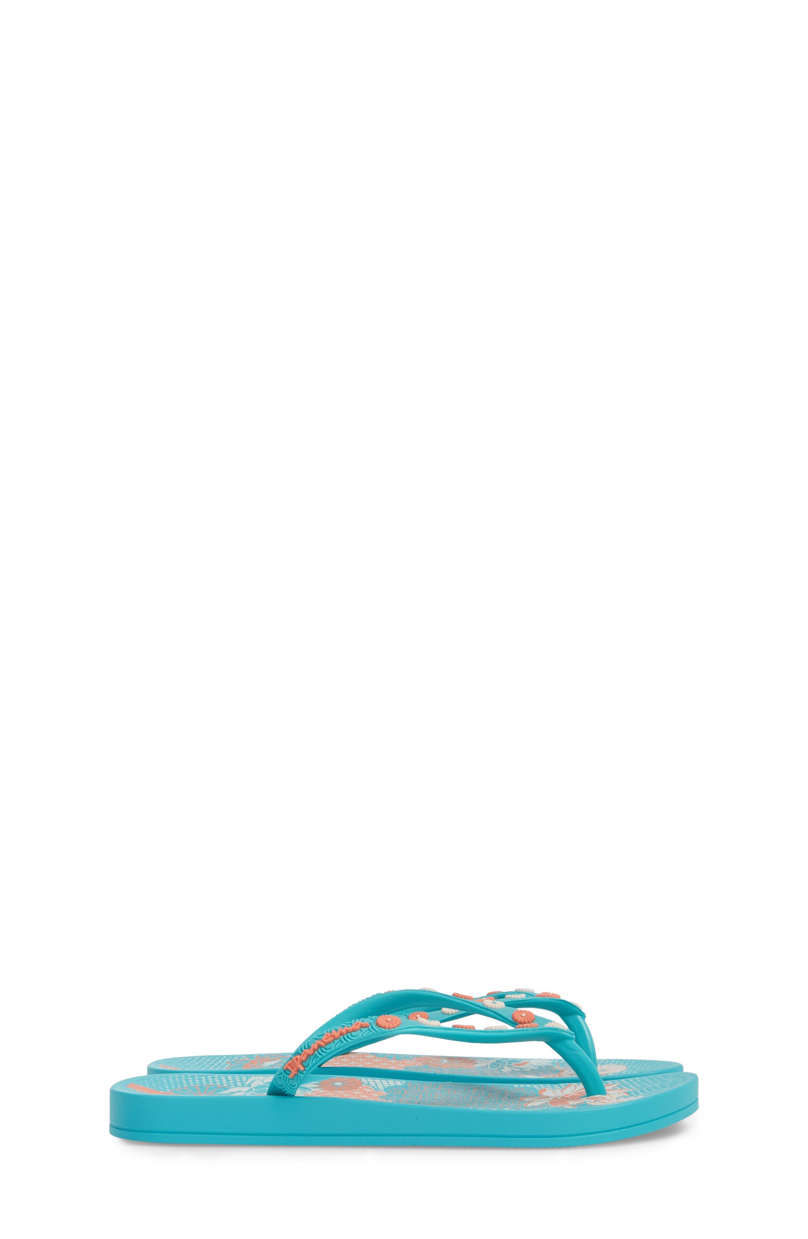 Ana Lovely Flip Flop,                             Alternate thumbnail 4, color,                             Blue