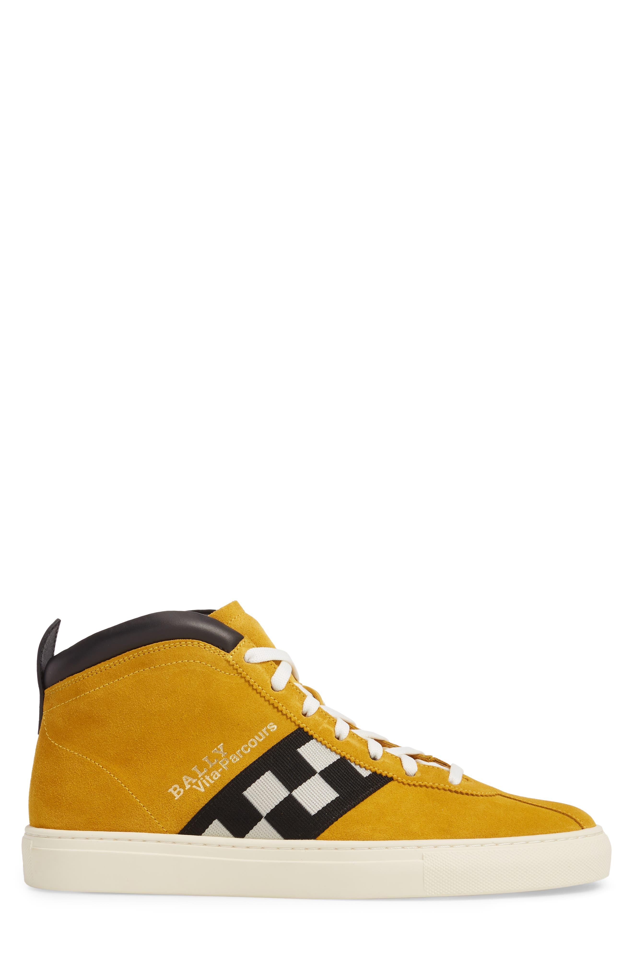 Alternate Image 3  - Bally Vita Checkered High Top Sneaker (Men)