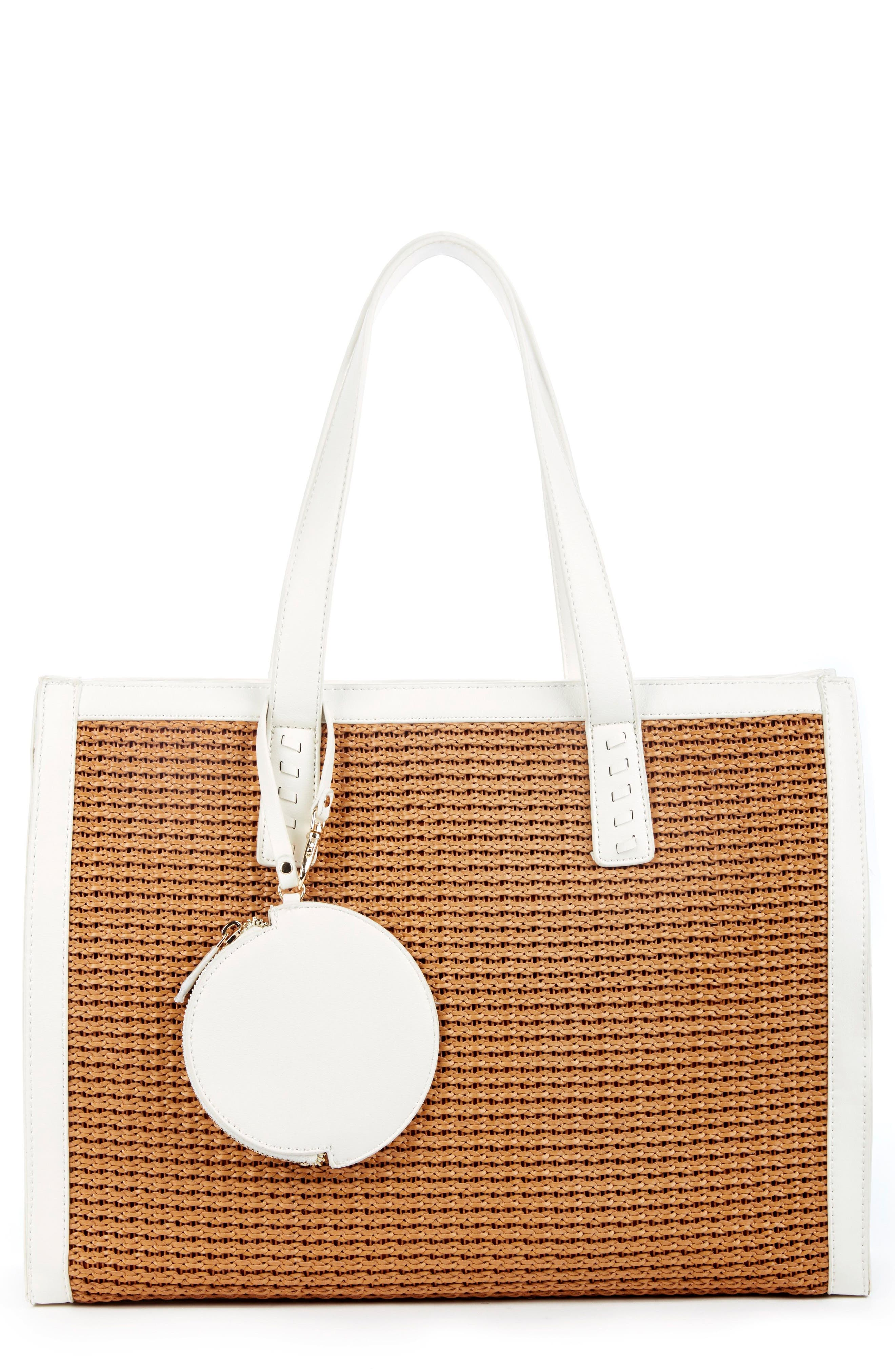 Sole Society Nikole Faux Leather Tote