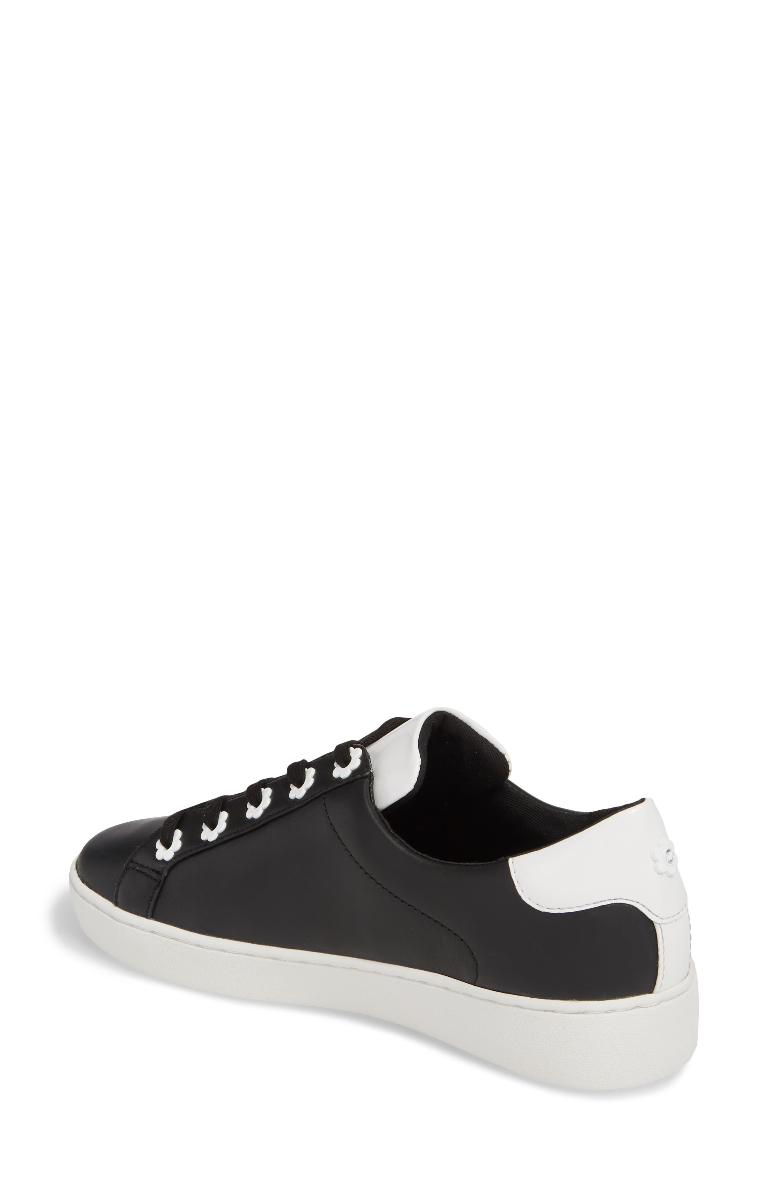 Irving Sneaker,                             Alternate thumbnail 2, color,                             Black/ Optic White