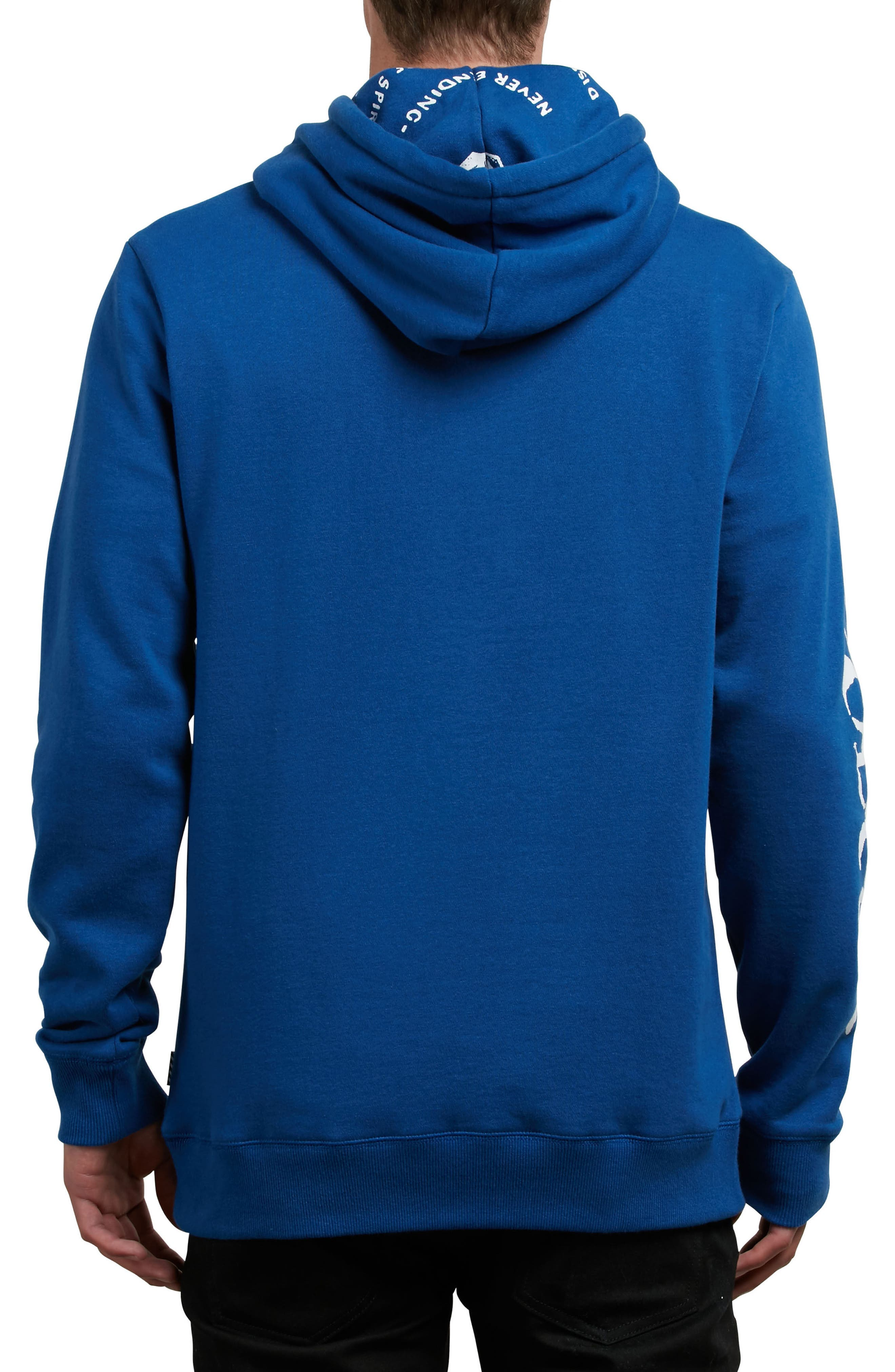 Reload Graphic Hoodie,                             Alternate thumbnail 2, color,                             Camper Blue