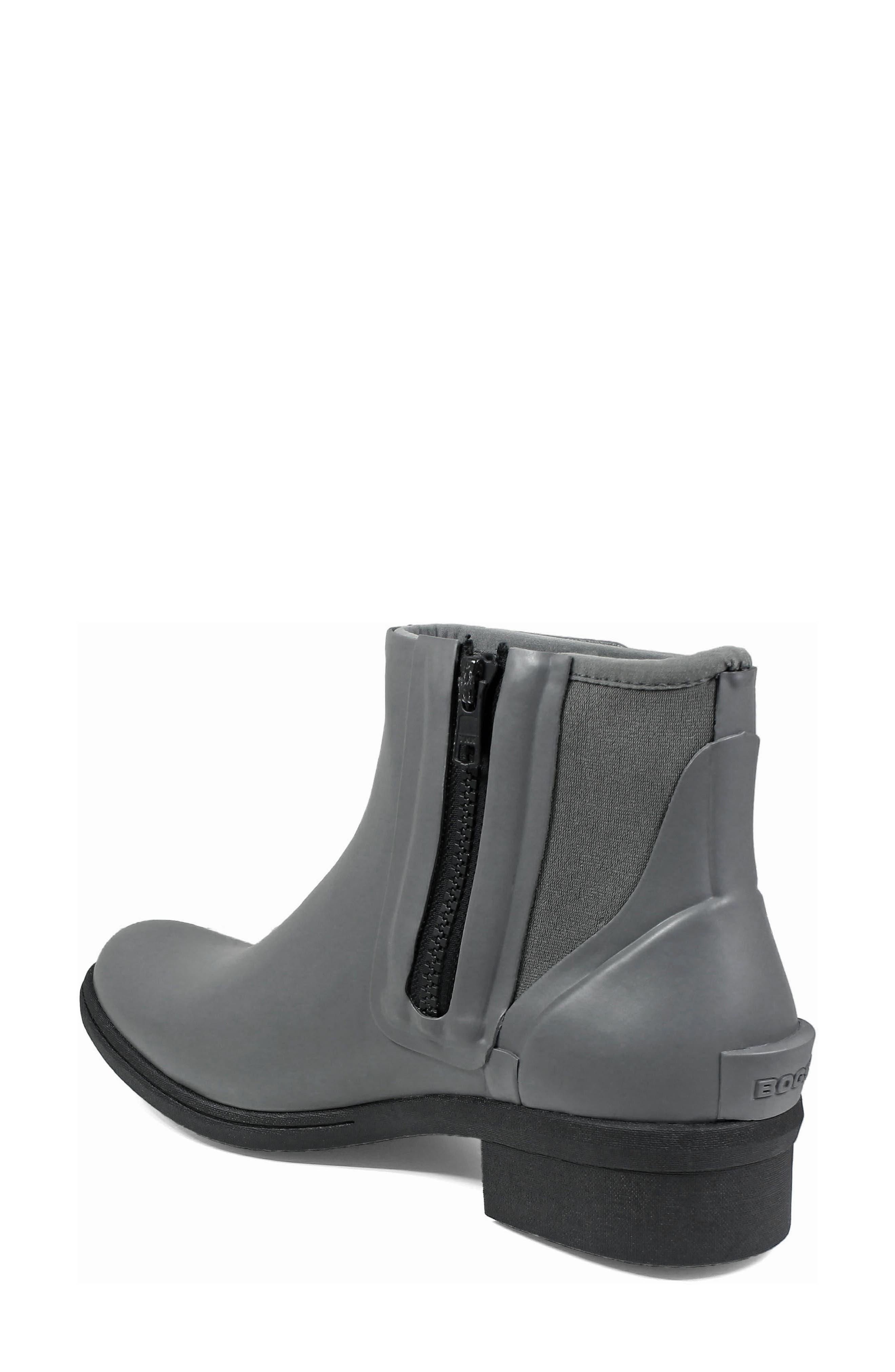 Auburn Insulated Waterproof Boot,                             Alternate thumbnail 2, color,                             Grey