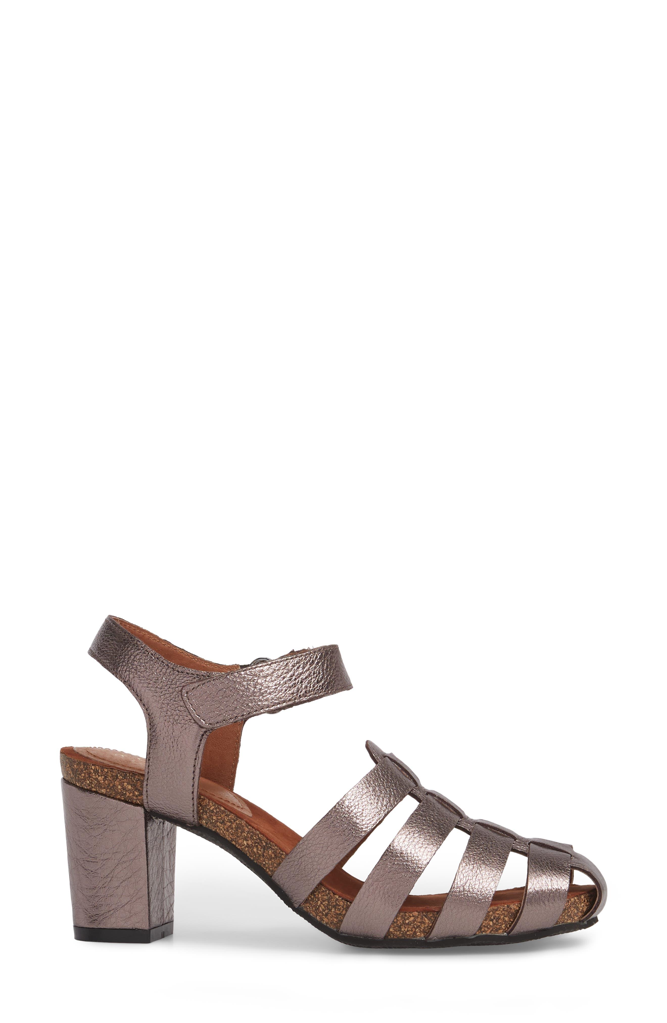 Alternate Image 3  - Sudini Carrara Block Heel Sandal (Women)