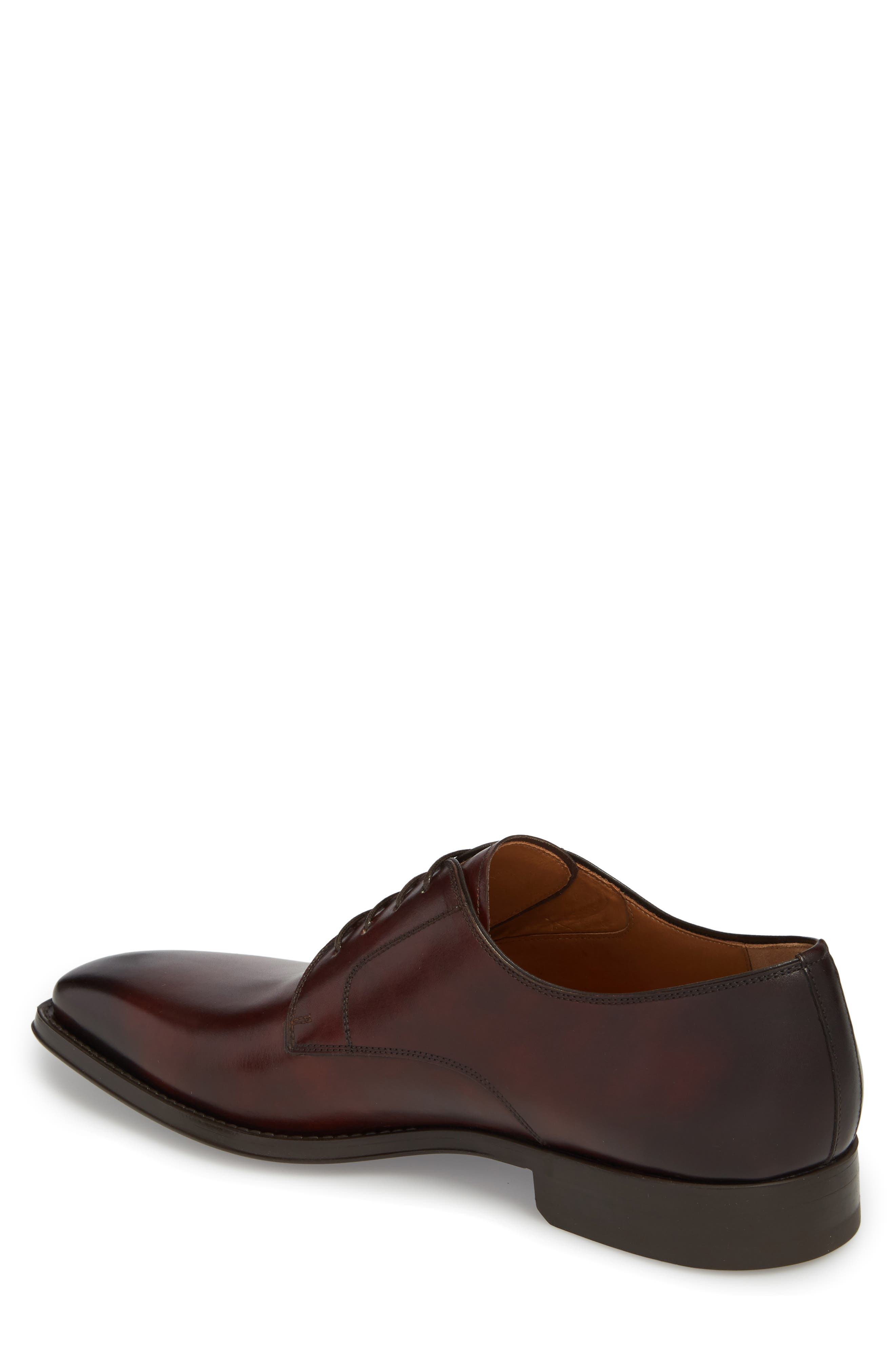 Colo II Plain Toe Derby,                             Alternate thumbnail 2, color,                             Mid Brown Leather