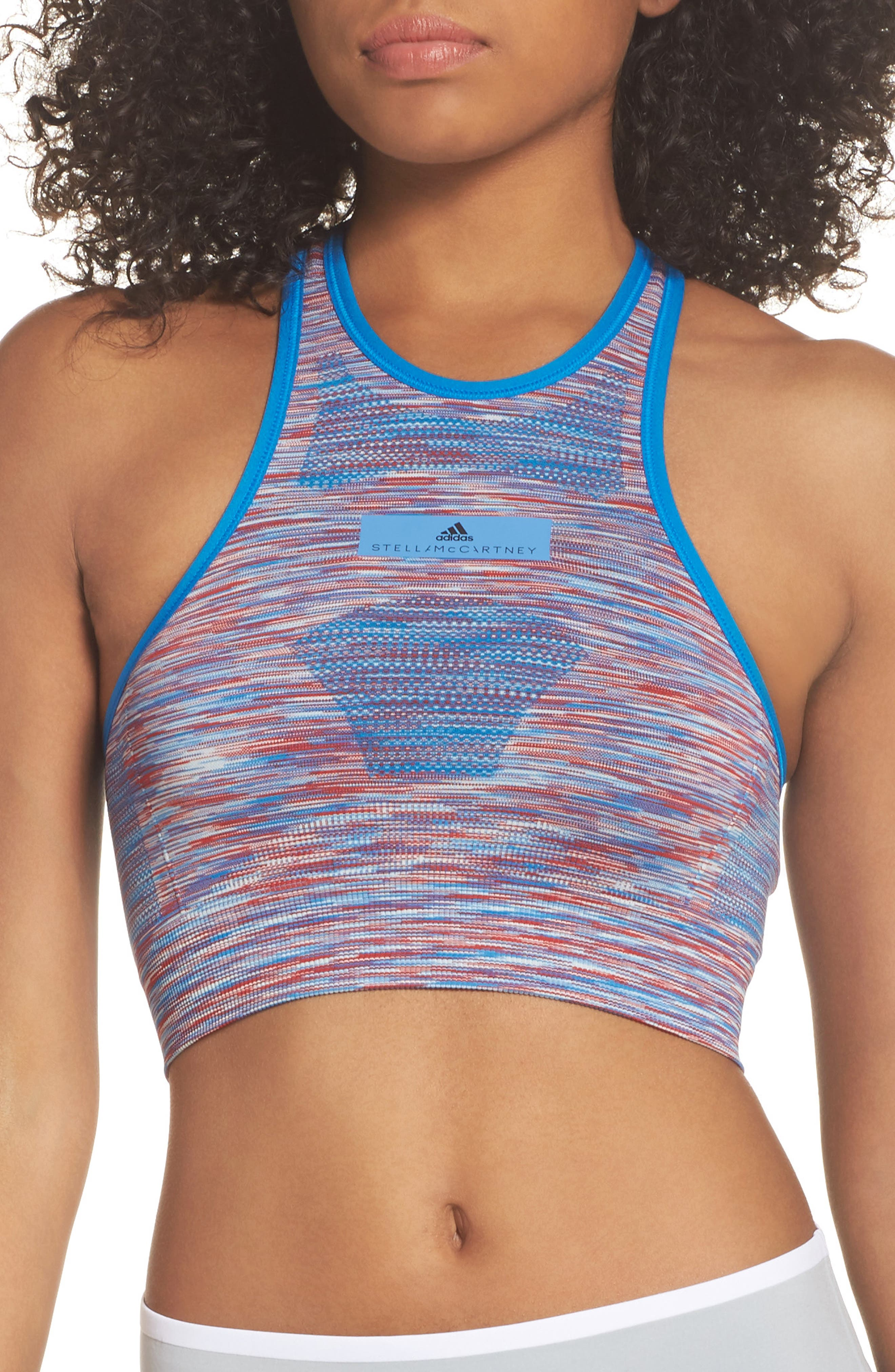 adidas by Stella McCartney Seamless Space Dye Bra